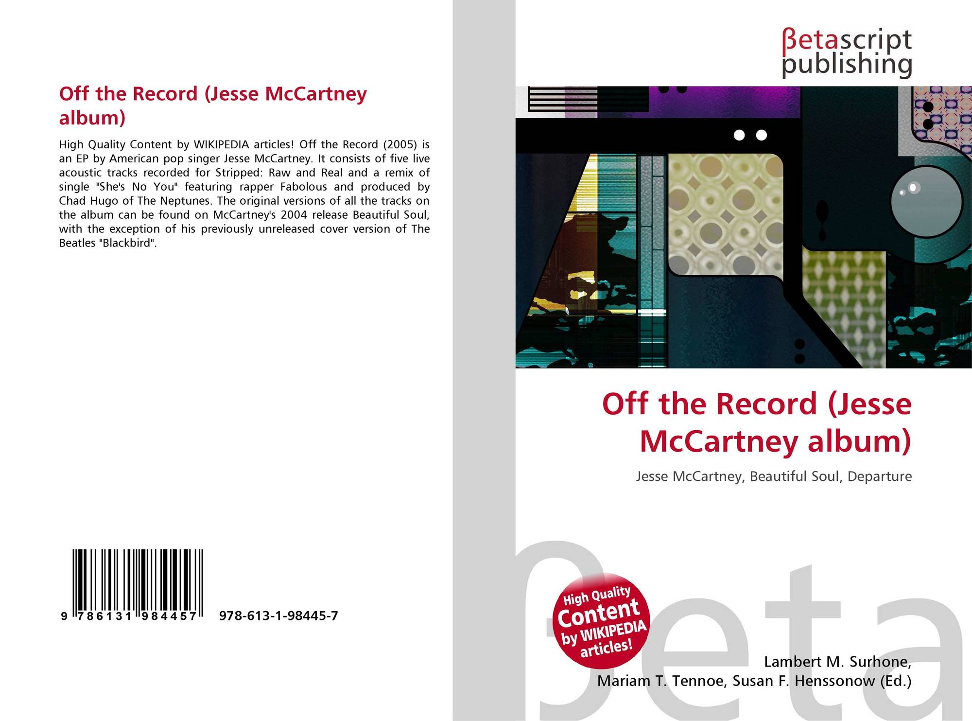 jesse mccartney discography wiki