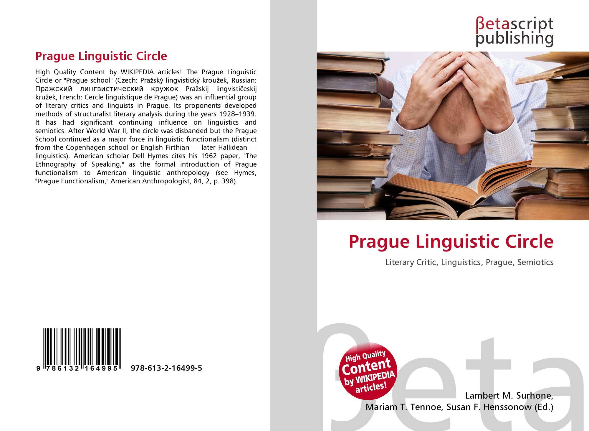 prague linguistic circle thesis 3- prague school uploaded by rene «the impact of czech and russian biology on the linguistic thought of the prague linguistic circle» the thesis i will.