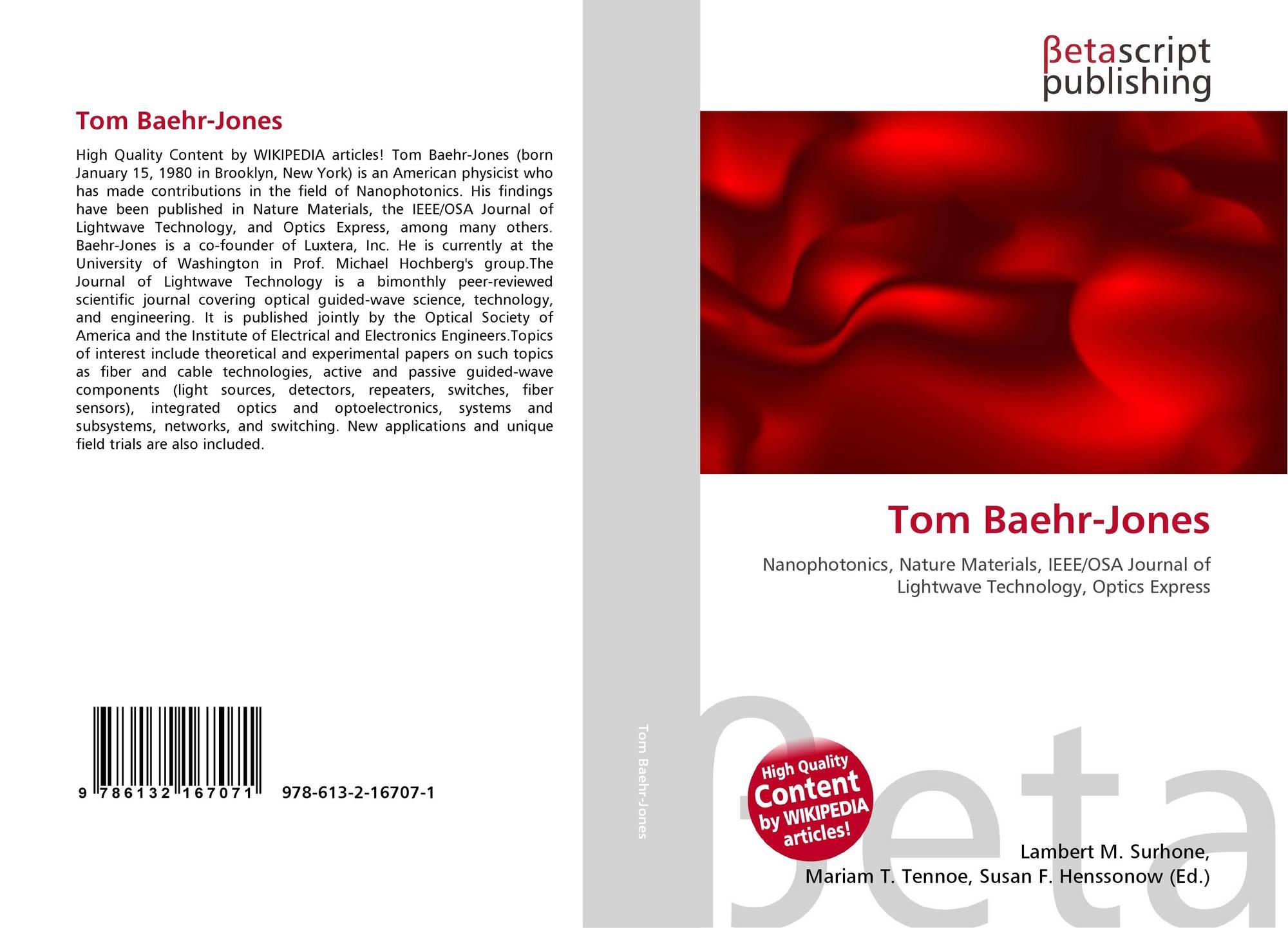 tom baehr-jones thesis C l a s s n o t e s class c l a s s n o t e s class of 1998 special reunion attendees included tom baehr-jones her honors thesis.