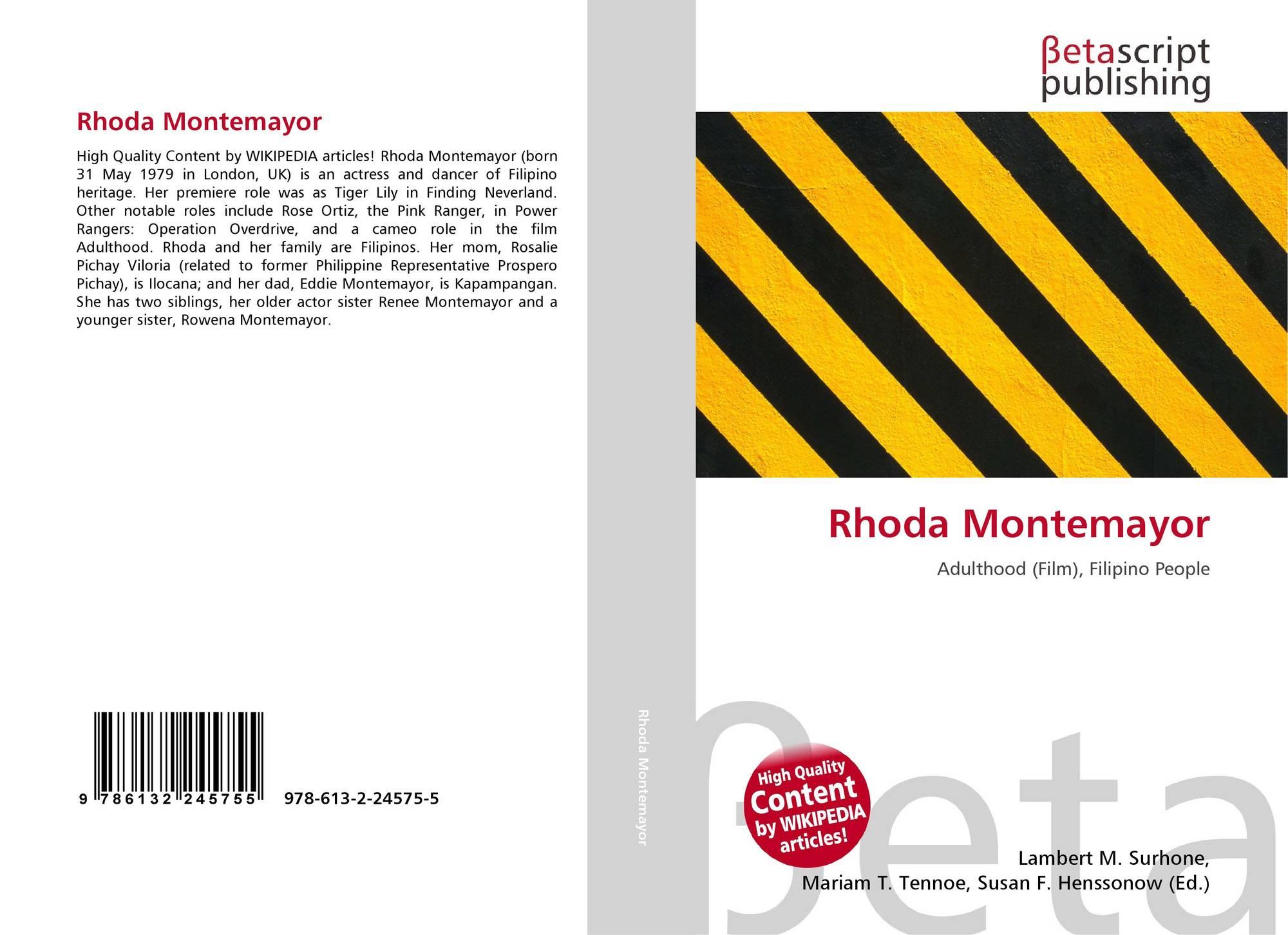 Montemayor rhoda Rhoda Montemayor