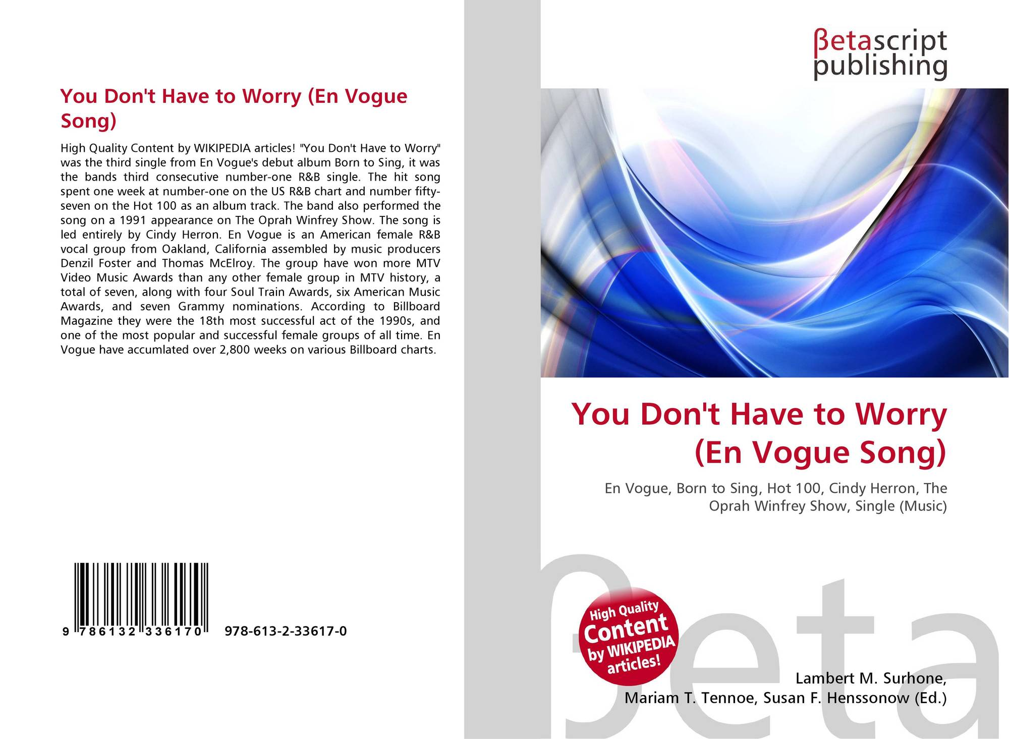 95f2f11804 You Don  t Have to Worry (En Vogue Song)