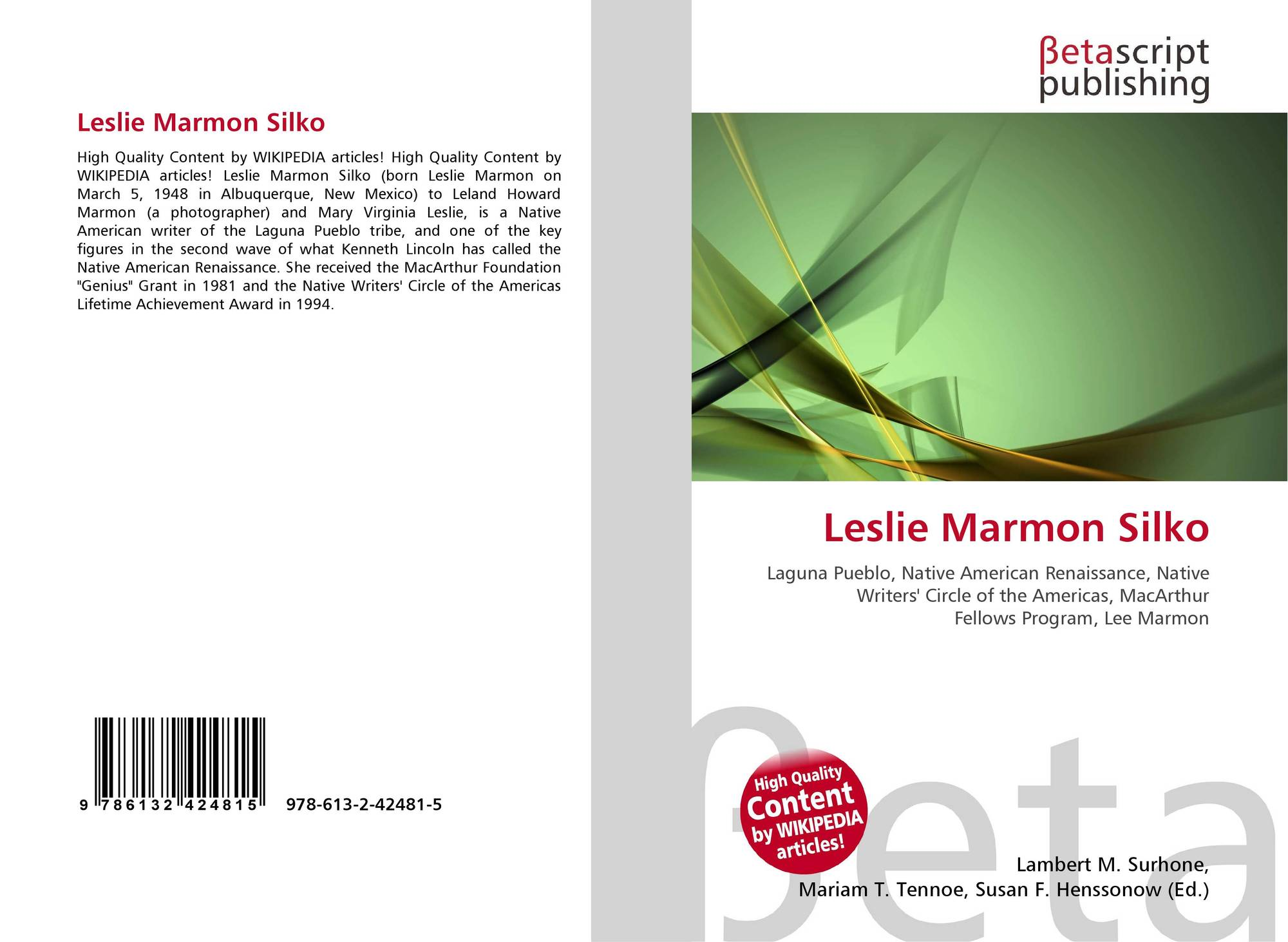 an analysis of leslie marmon silkos works