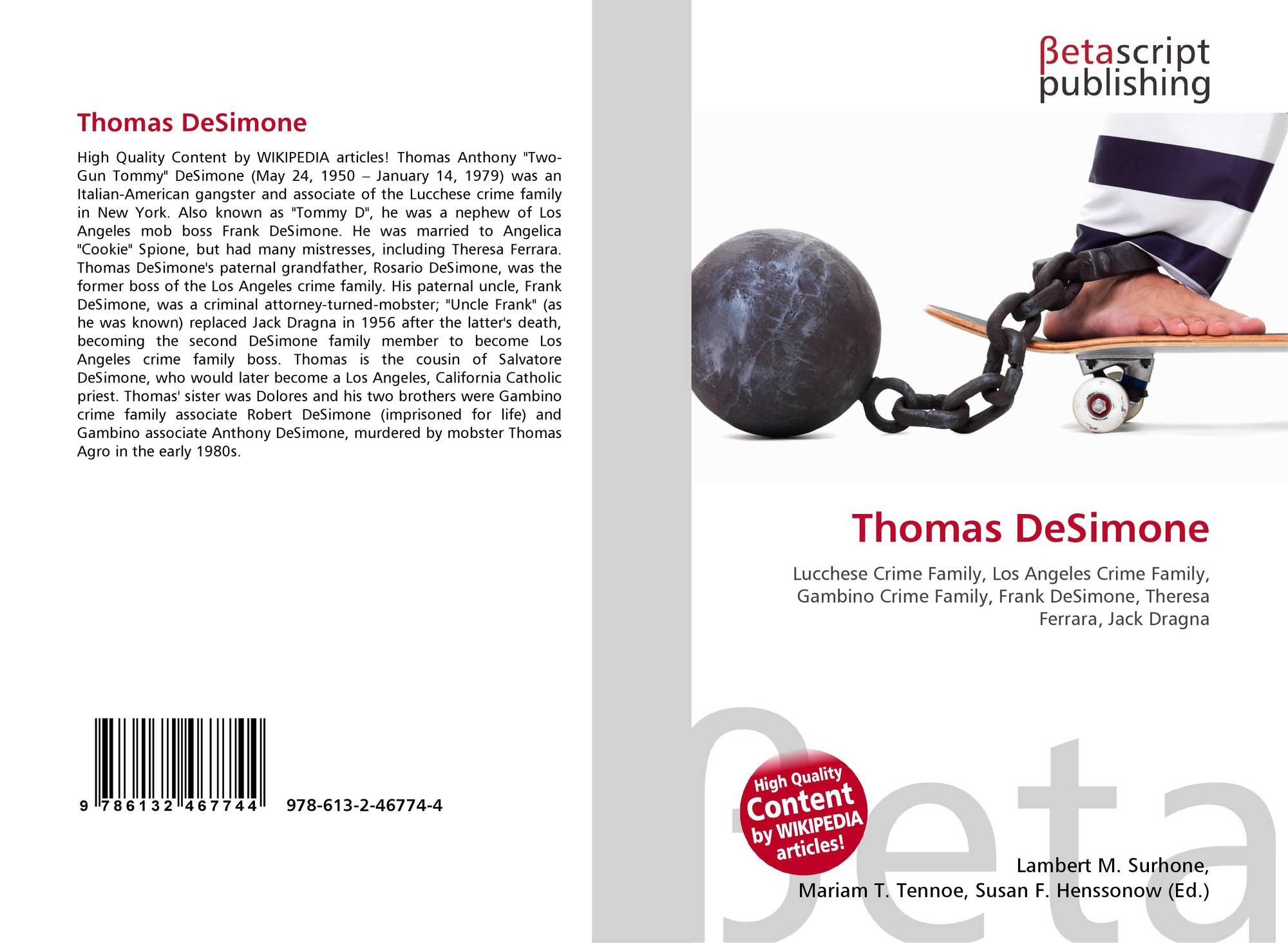 Thomas DeSimone, 978-613-2-46774-4, 6132467742 ,9786132467744