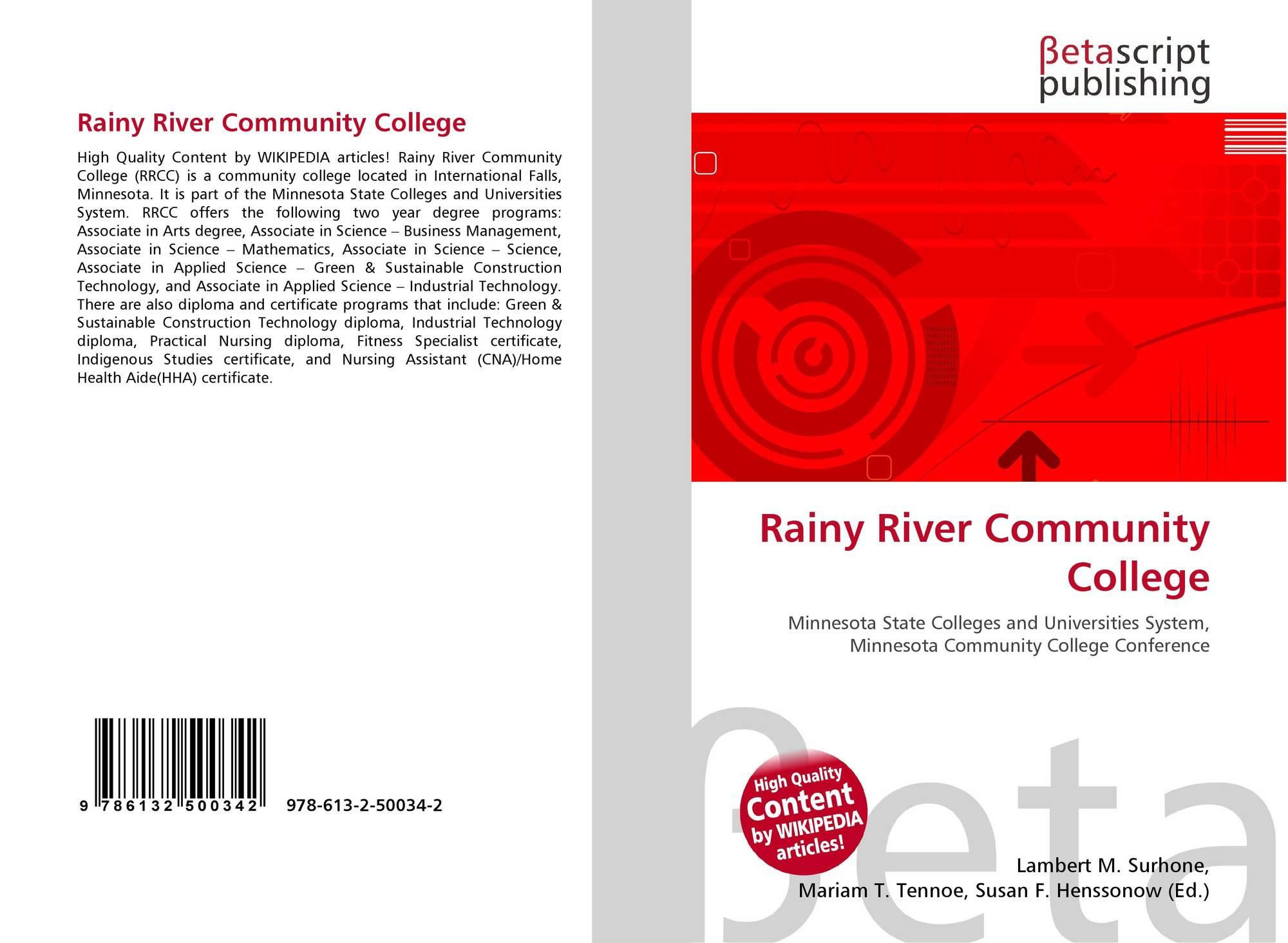 rainy river community coll - HD2000×1464