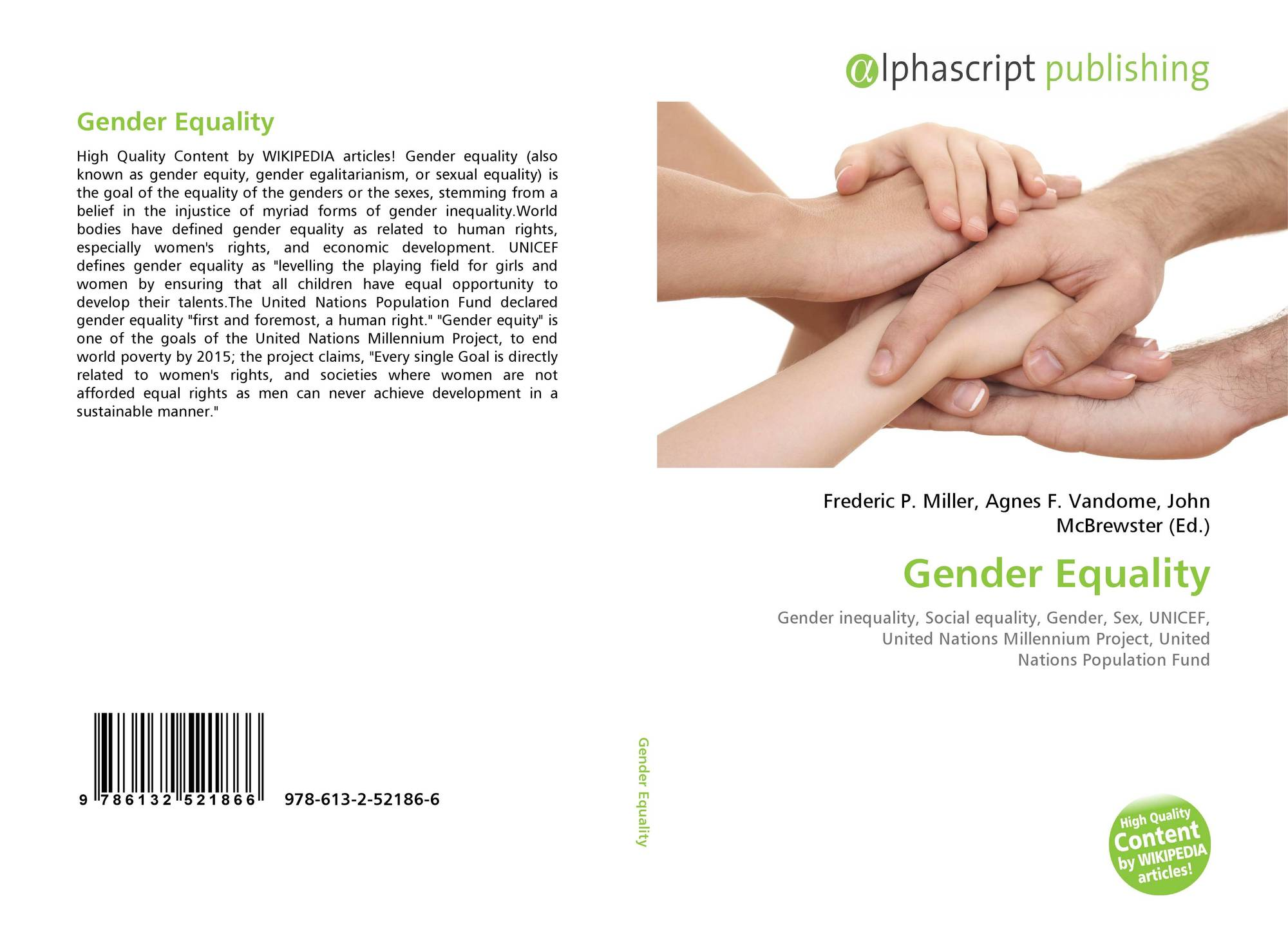 gender equality and the issue of third world development