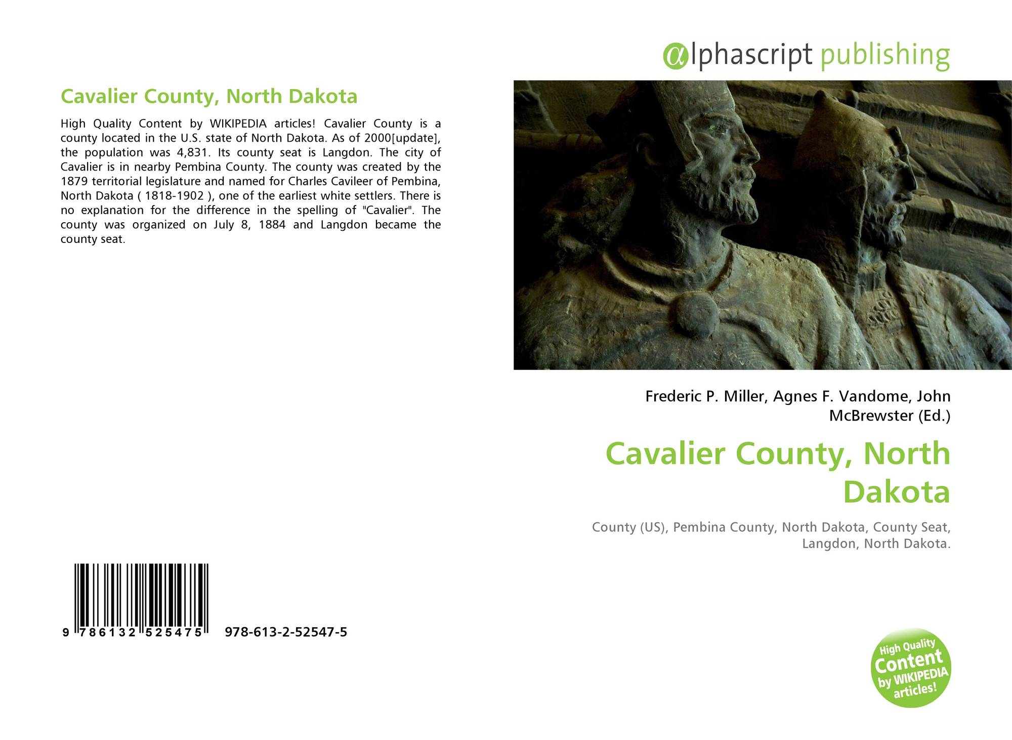 North dakota pembina county cavalier - Bookcover Of Cavalier County North Dakota