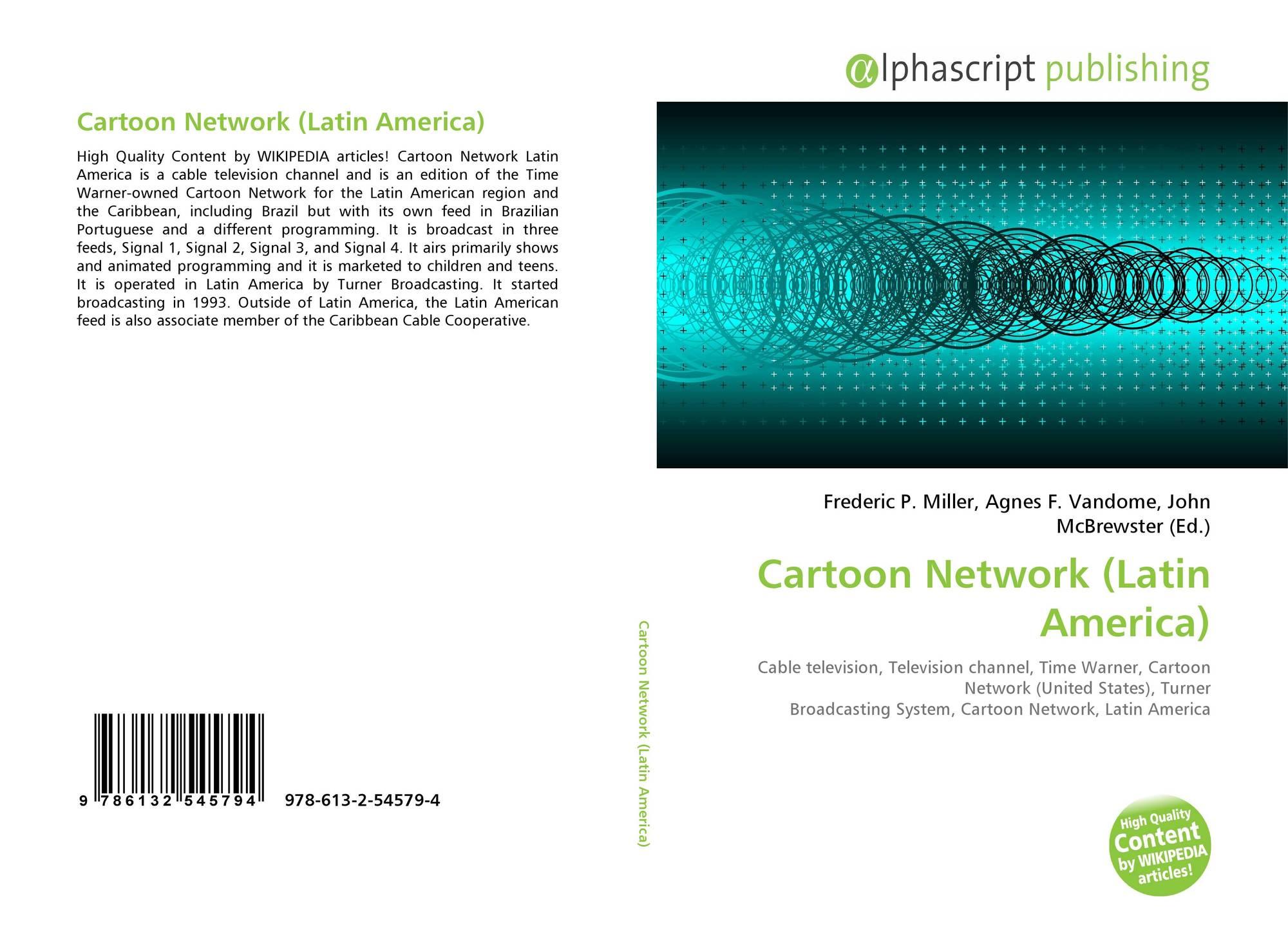 Cartoon Network Latin America 978 613 2 54579 4 6132545794