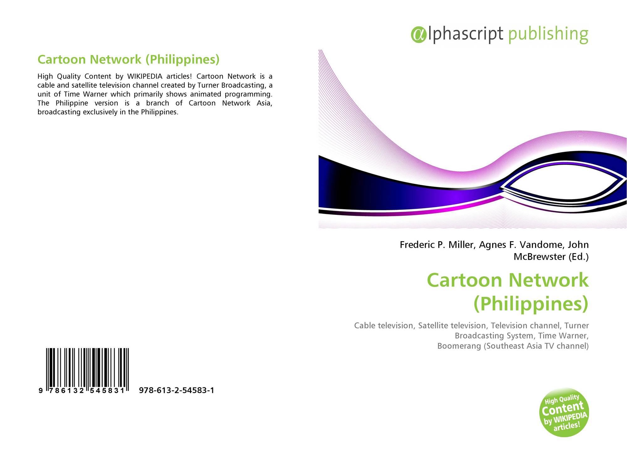 Cartoon Network Philippines 978 613 2 54583 1 6132545832