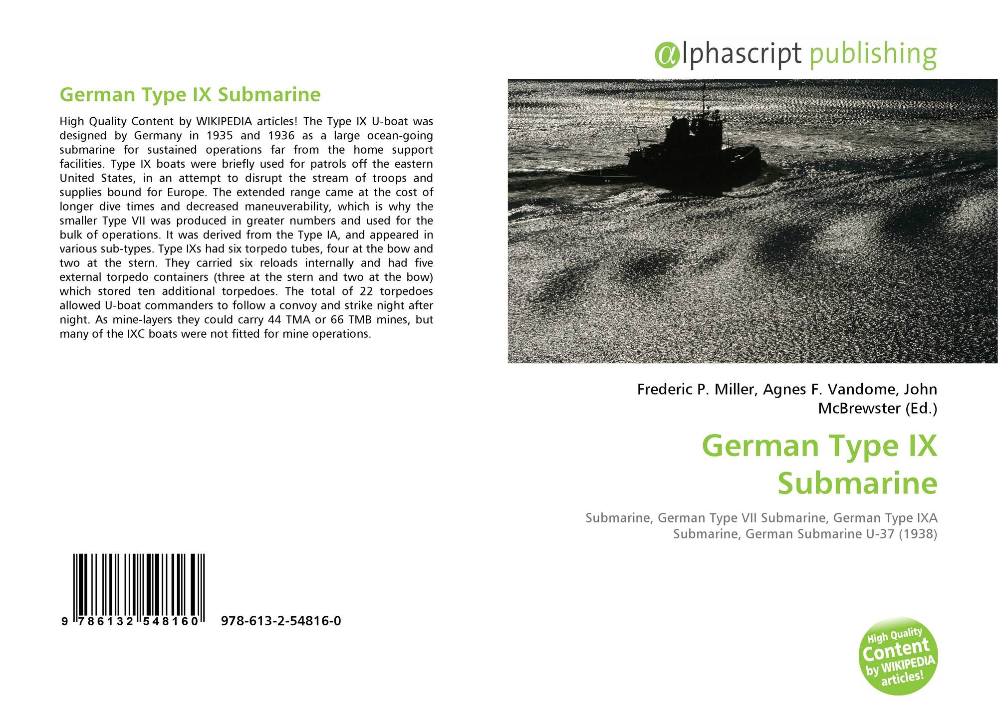 search results for german type ix submarine