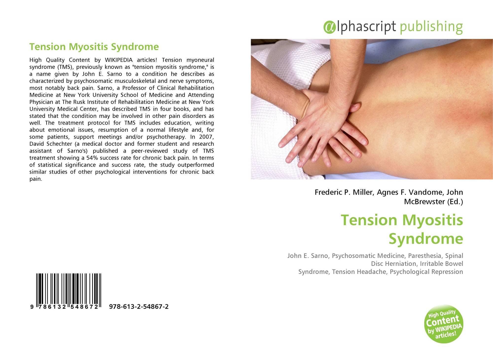 Faire Une Separation Entre 2 Pieces tension myositis syndrome, 978-613-2-54867-2, 613254867x