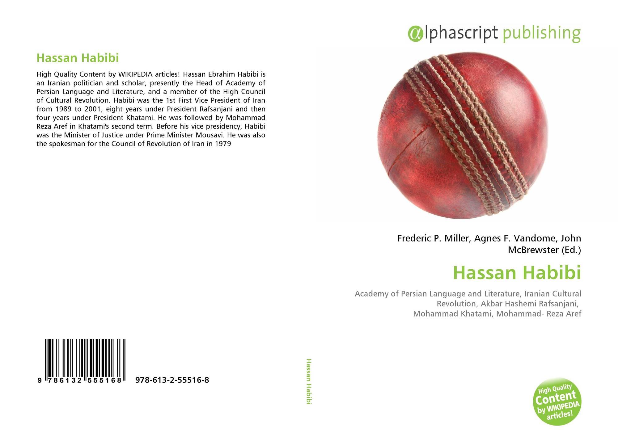 Bookcover of Hassan Habibi