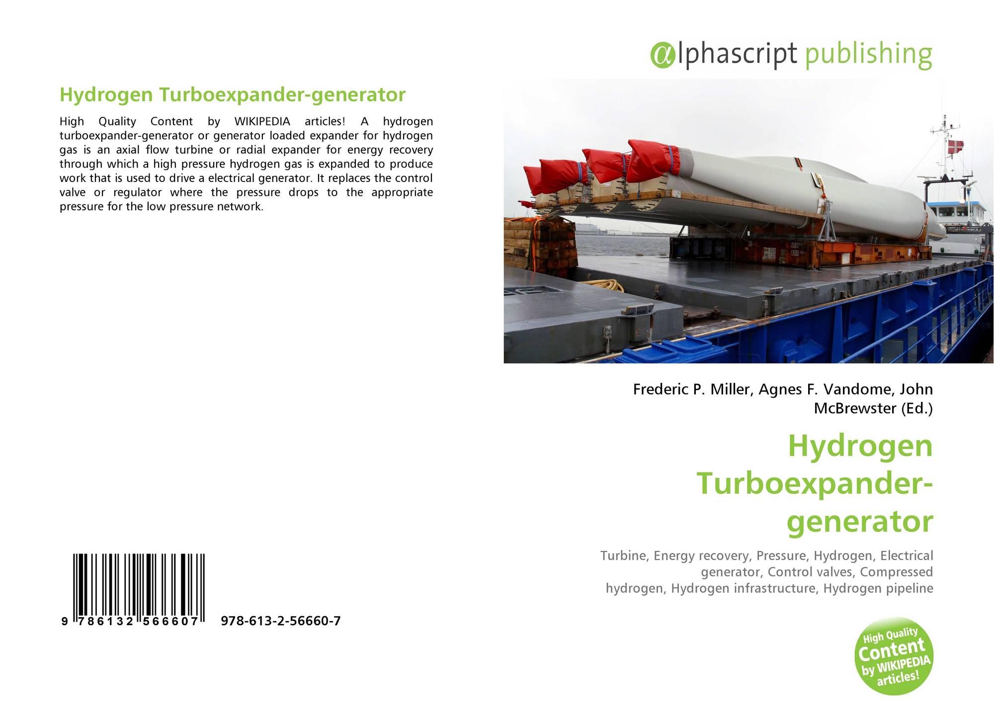 Hydrogen Turboexpander-generator, 978-613-2-56660-7, 6132566600