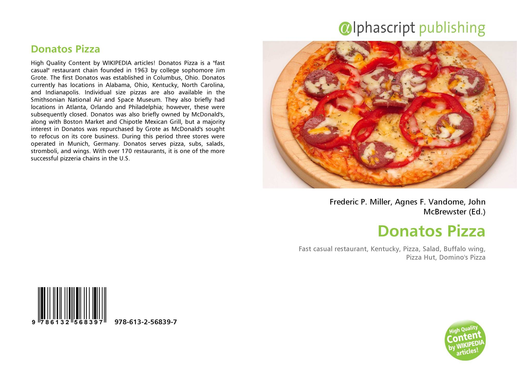 donatos finding the new pizza case study solution