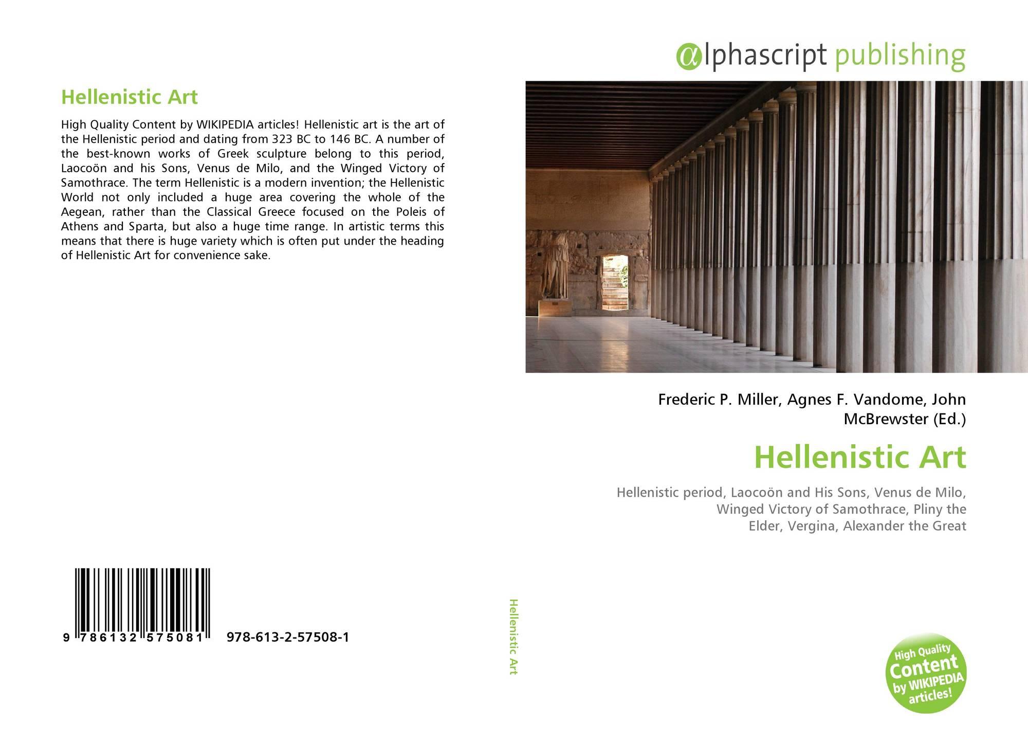 Bookcover Of Hellenistic Art Omni Badge 9307e2201e5f762643a64561af3456be64a87707602f96b92ef18a9bbcada116