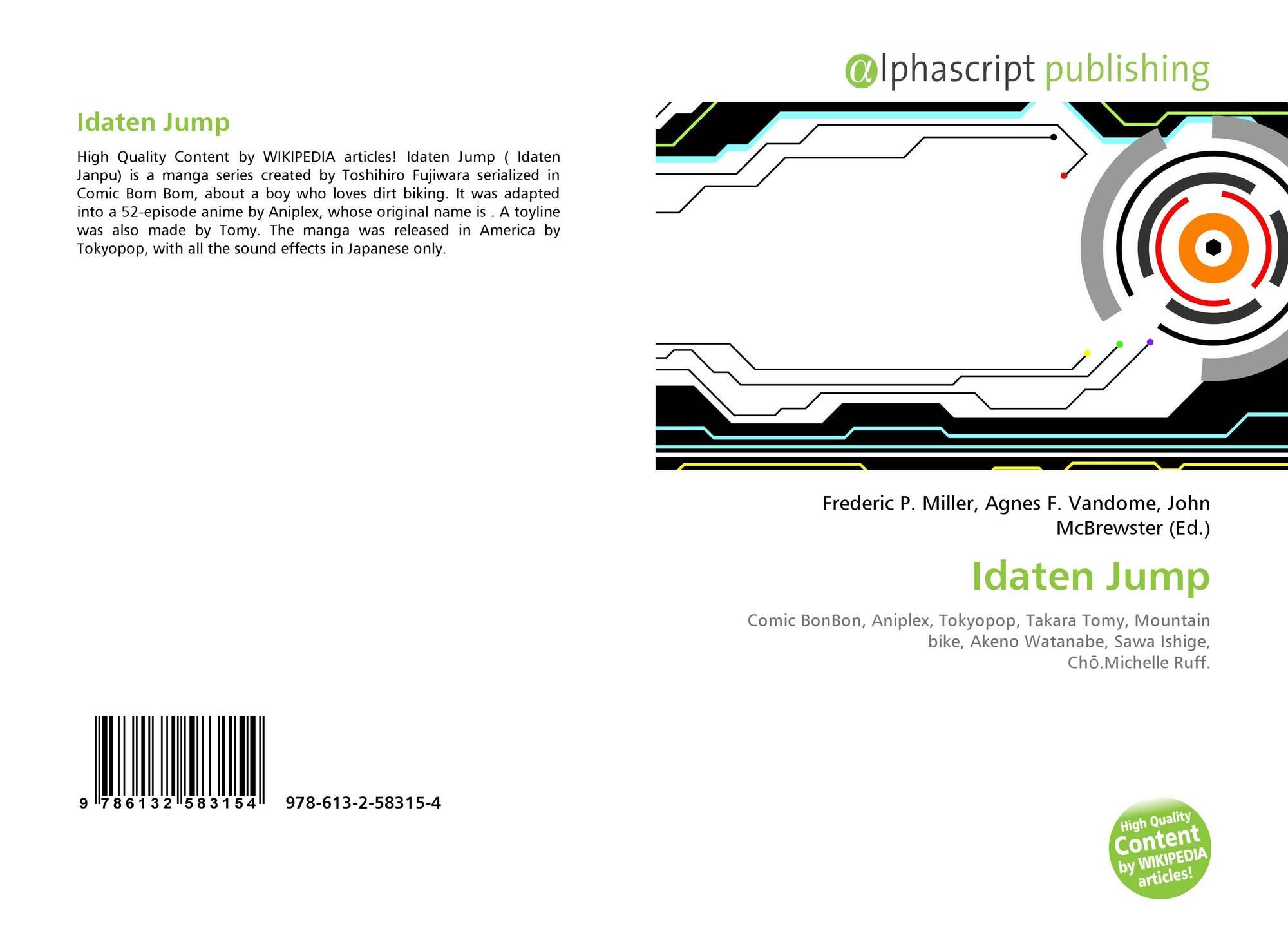 Idaten Jump, 978-613-2-58315-4, 6132583157 ,9786132583154