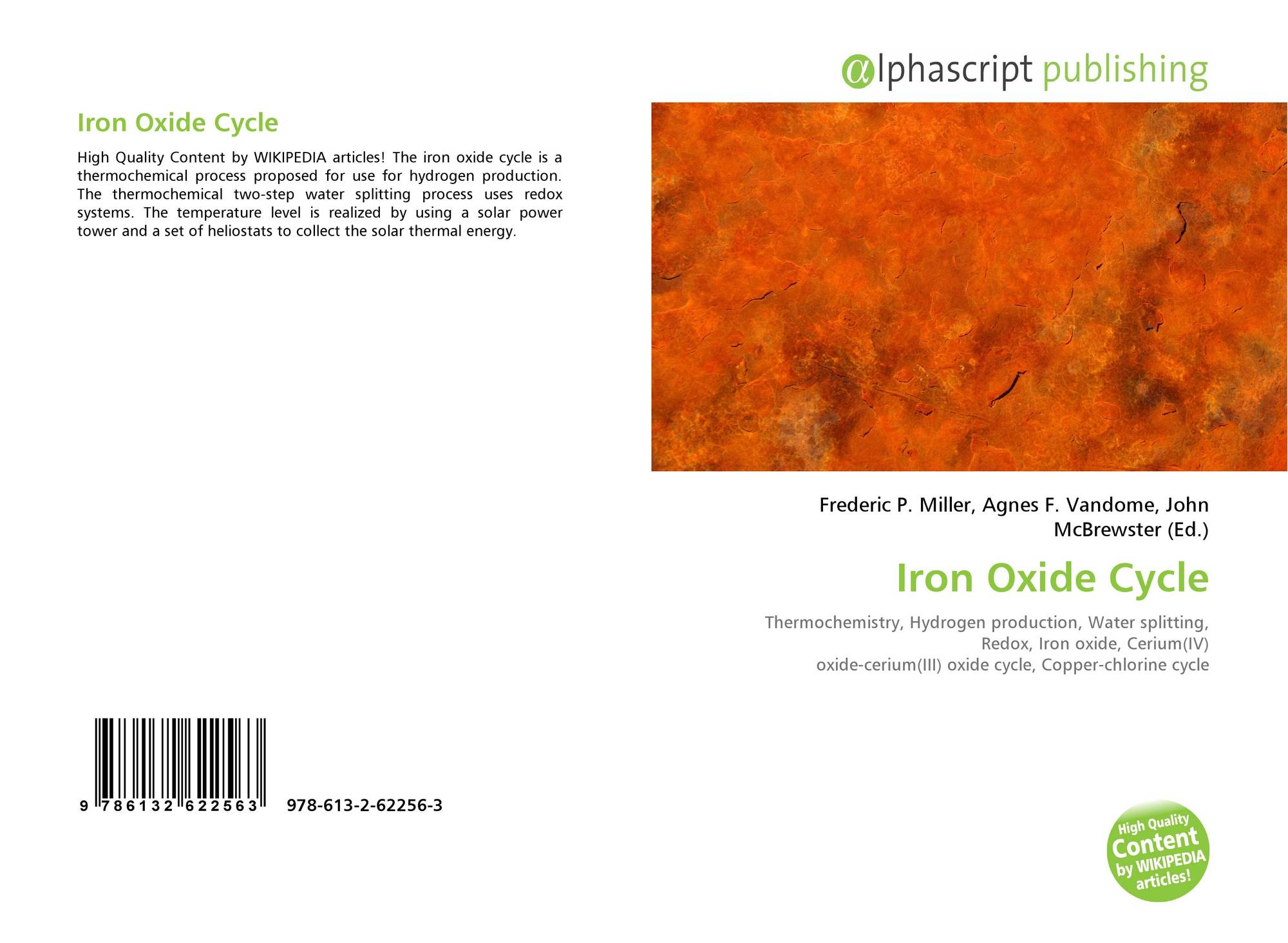 Iron Oxide Cycle, 978-613-2-62256-3, 613262256X ,9786132622563