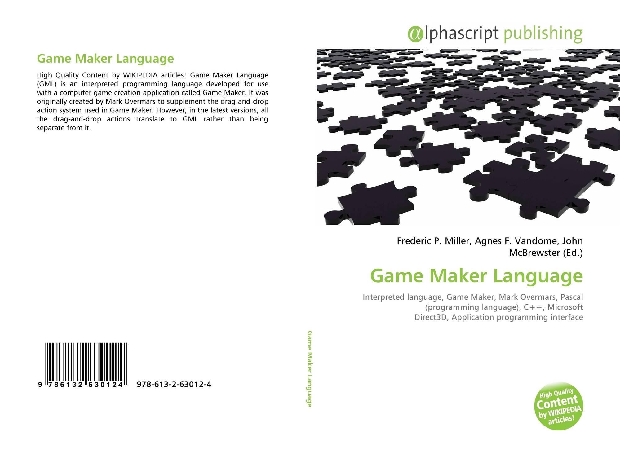 Game maker language, game makerin programlama dilidir