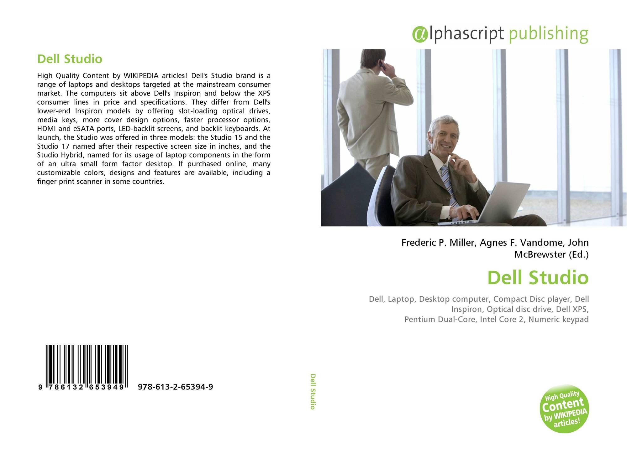 Dell Studio, 978-613-2-65394-9, 6132653945 ,9786132653949