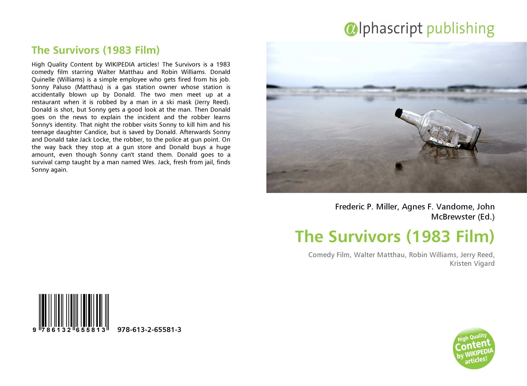 The Survivors (1983 Film), 978-613-2-65581-3, 6132655816