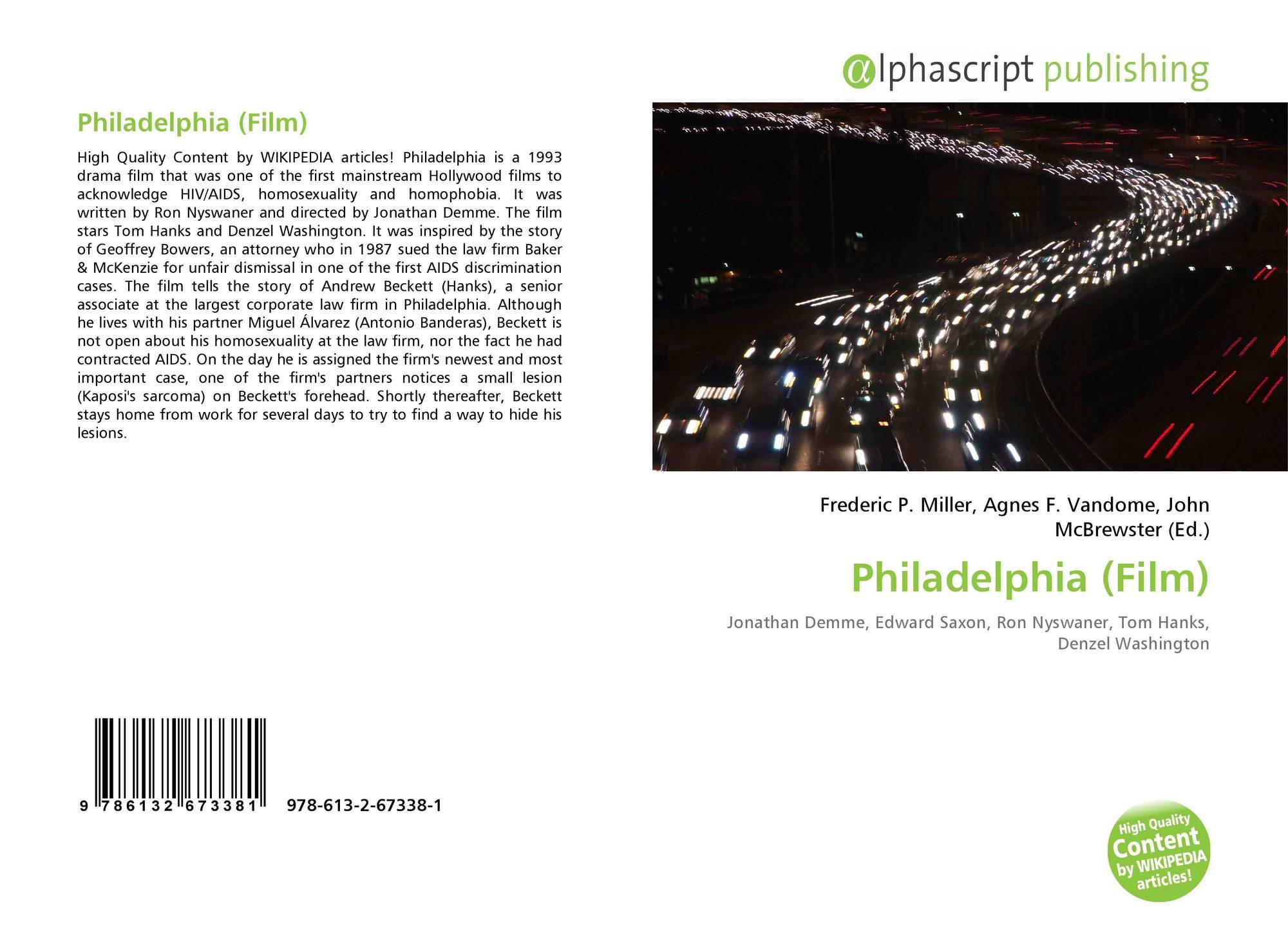 Philadelphia film wikipedia