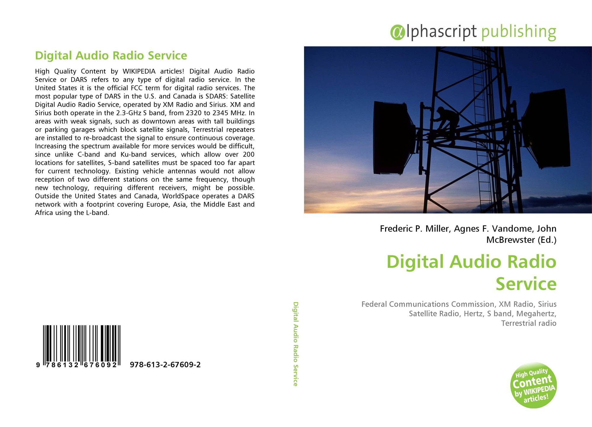 Digital Audio Platform Search Results For Service Bookcover Of Radio
