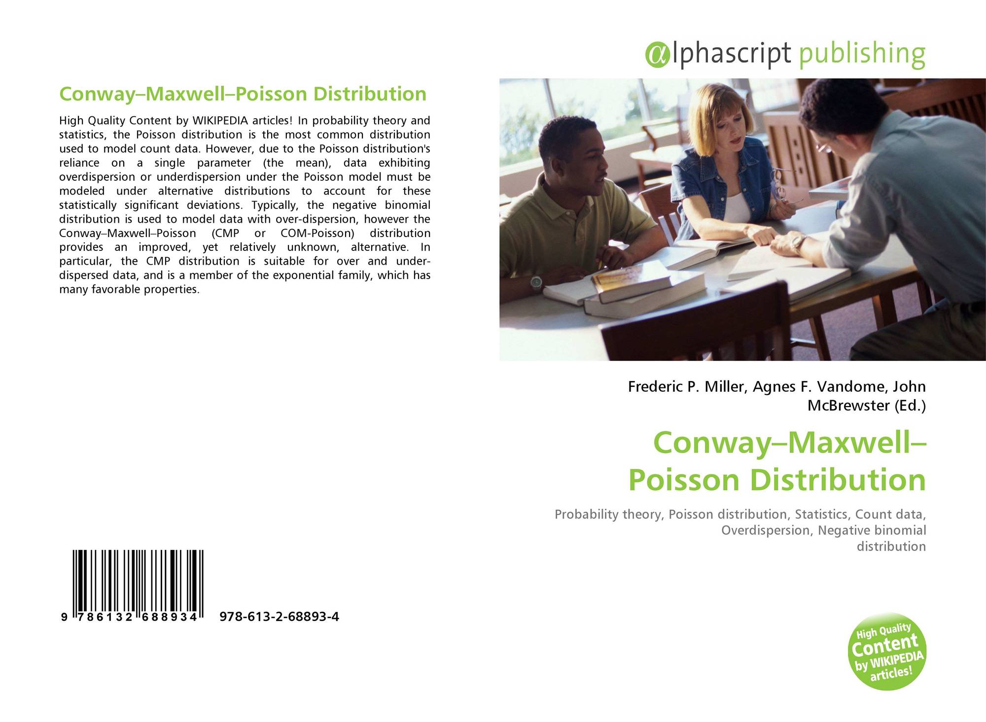 binomial distribution and conway maxwell poisson On the conway–maxwell-poisson (com-poisson) distribution to address this  problem  this yields a negative binomial marginal distribution of the form.