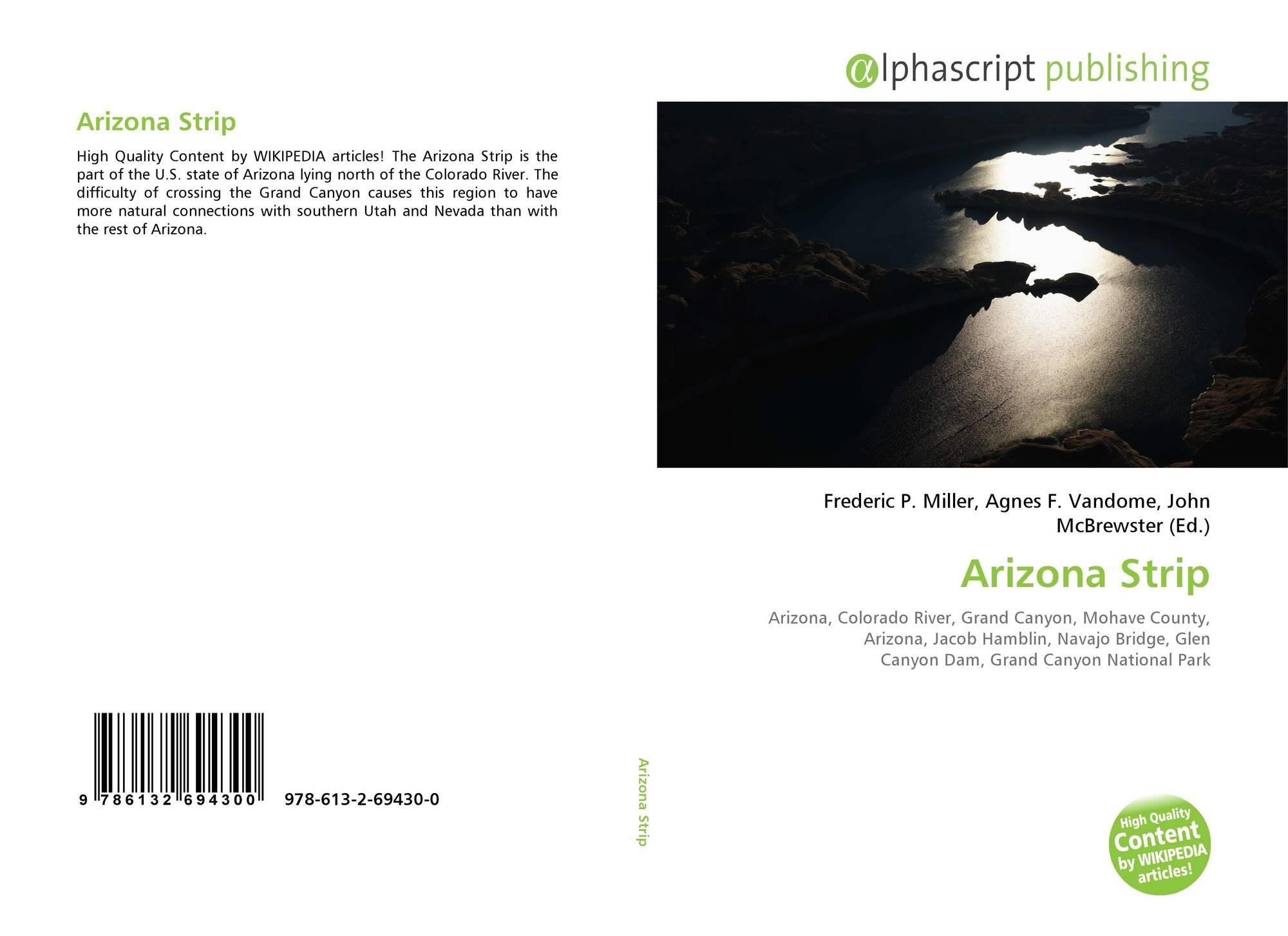 Bookcover of Arizona Strip