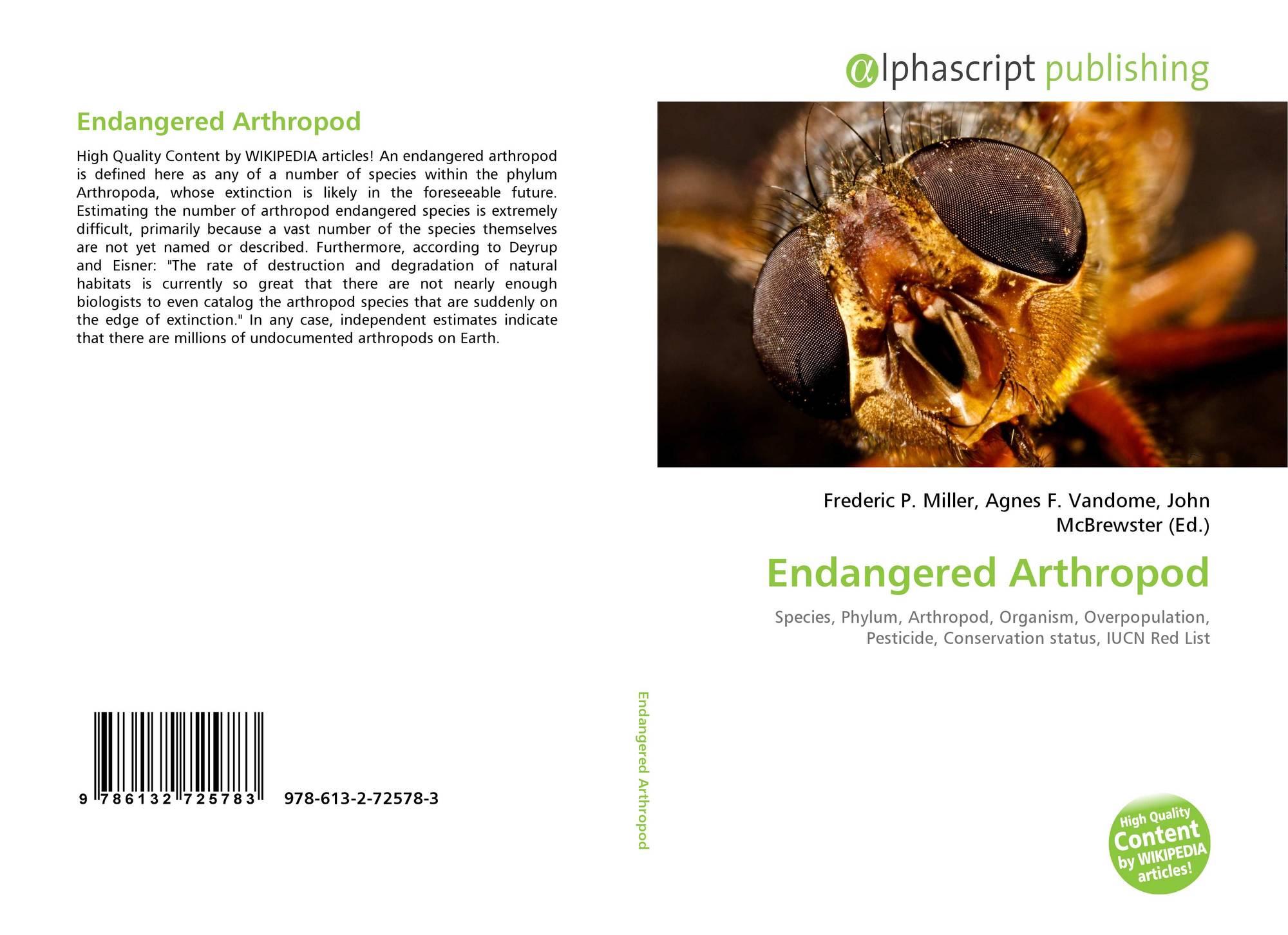 an analysis of arthropod