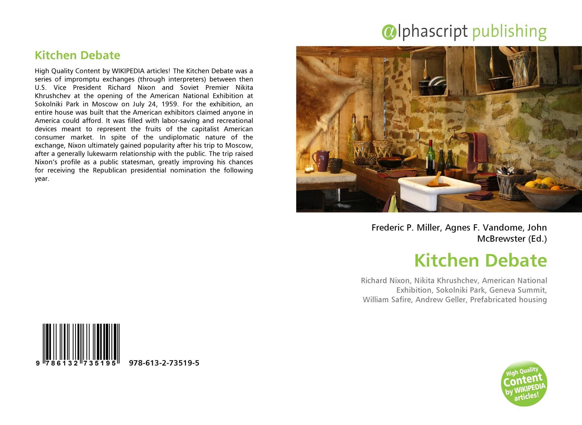 Kitchen Debate, 978-613-2-73519-5, 6132735194 ,9786132735195