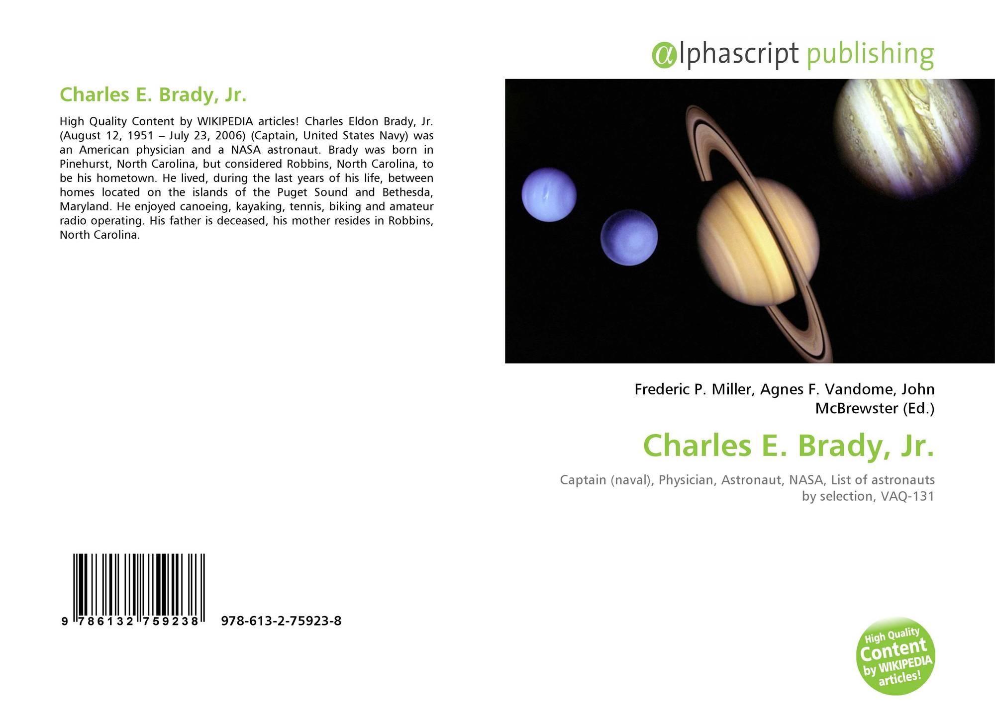 Charles E. Brady, Jr., 978-613...