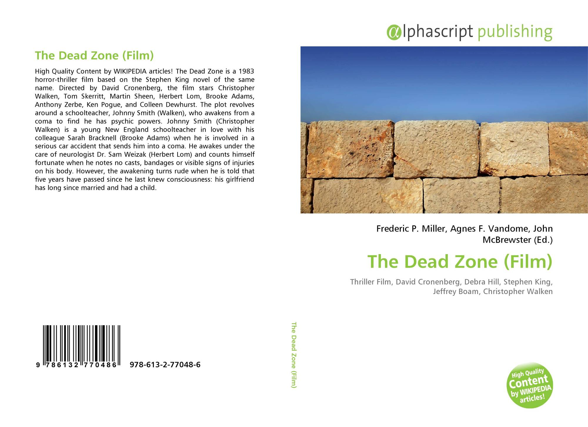 The Dead Zone (Film), 978-613-2-77048-6, 6132770488