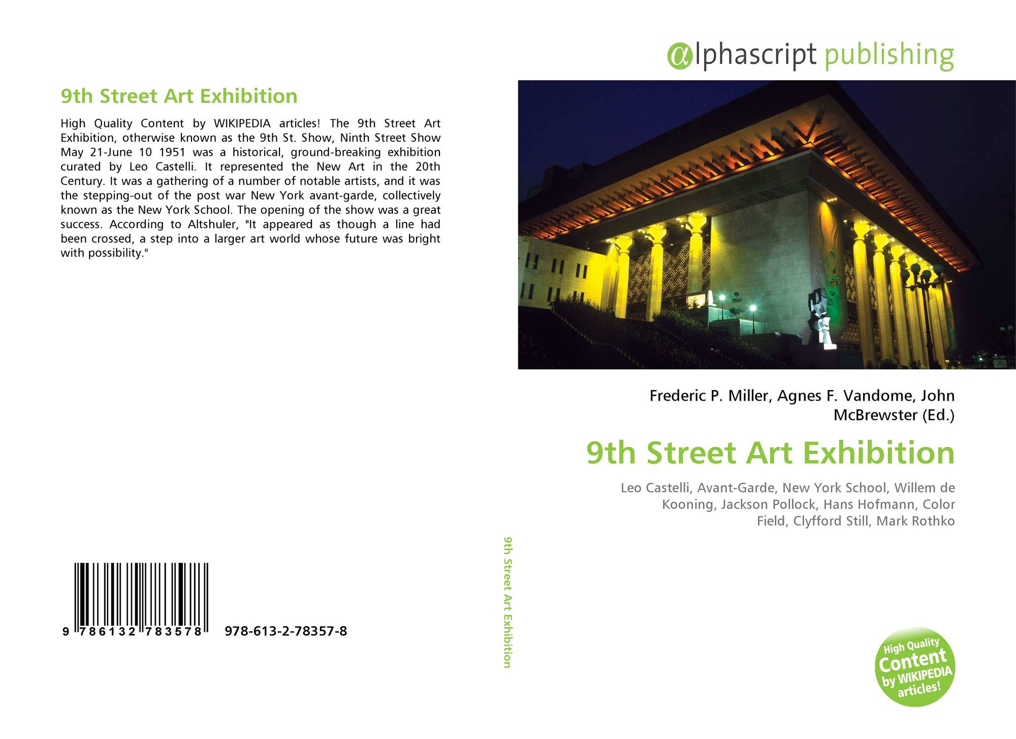 Fine 9Th Street Art Exhibition 978 613 2 78357 8 6132783571 Home Interior And Landscaping Dextoversignezvosmurscom