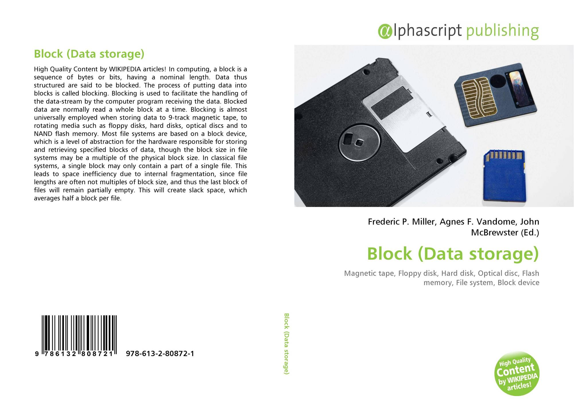 Block data storage 978 613 2 80872 1 6132808728 9786132808721 9786132808721 ccuart Image collections
