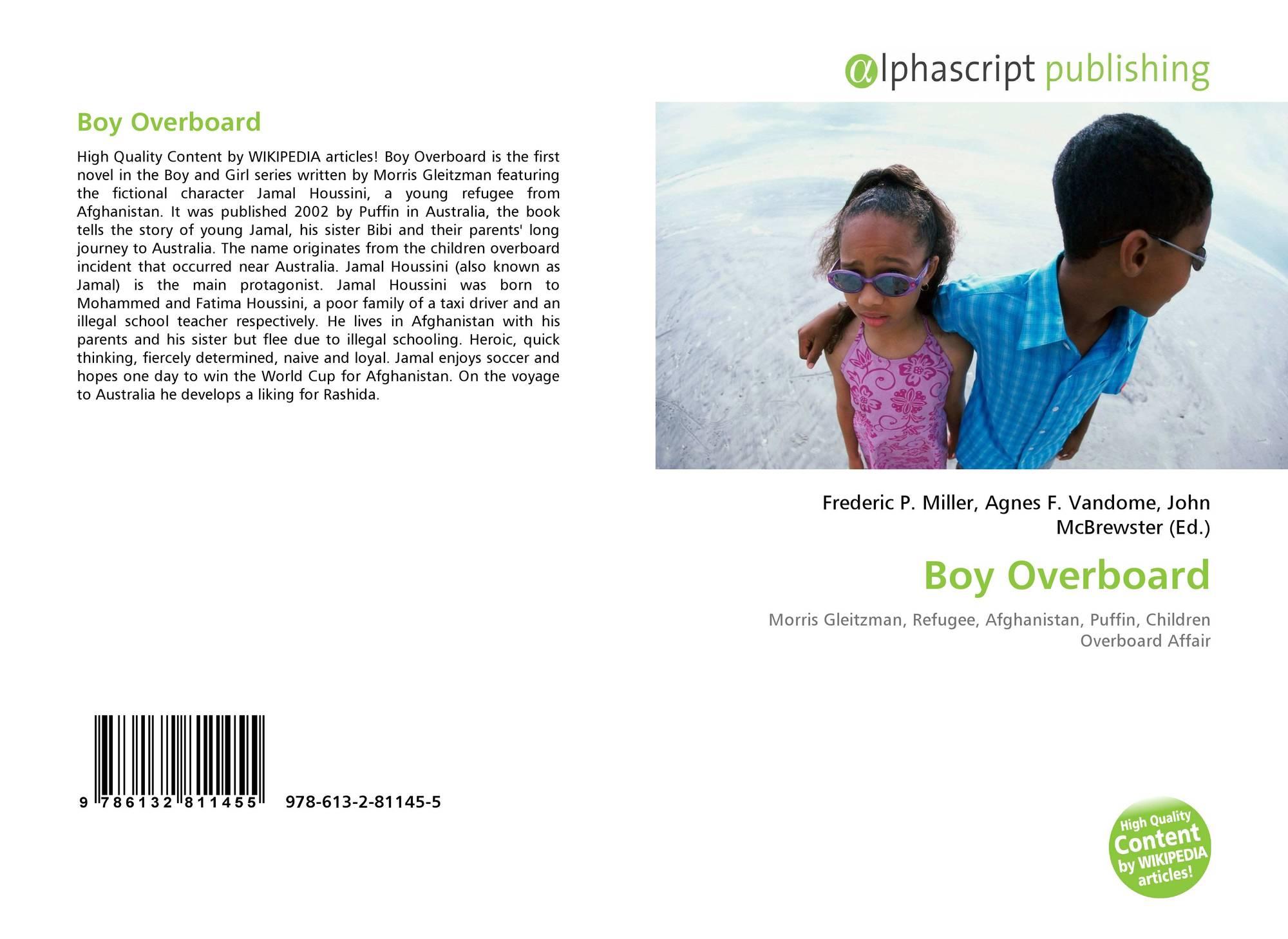 book report boy overboard