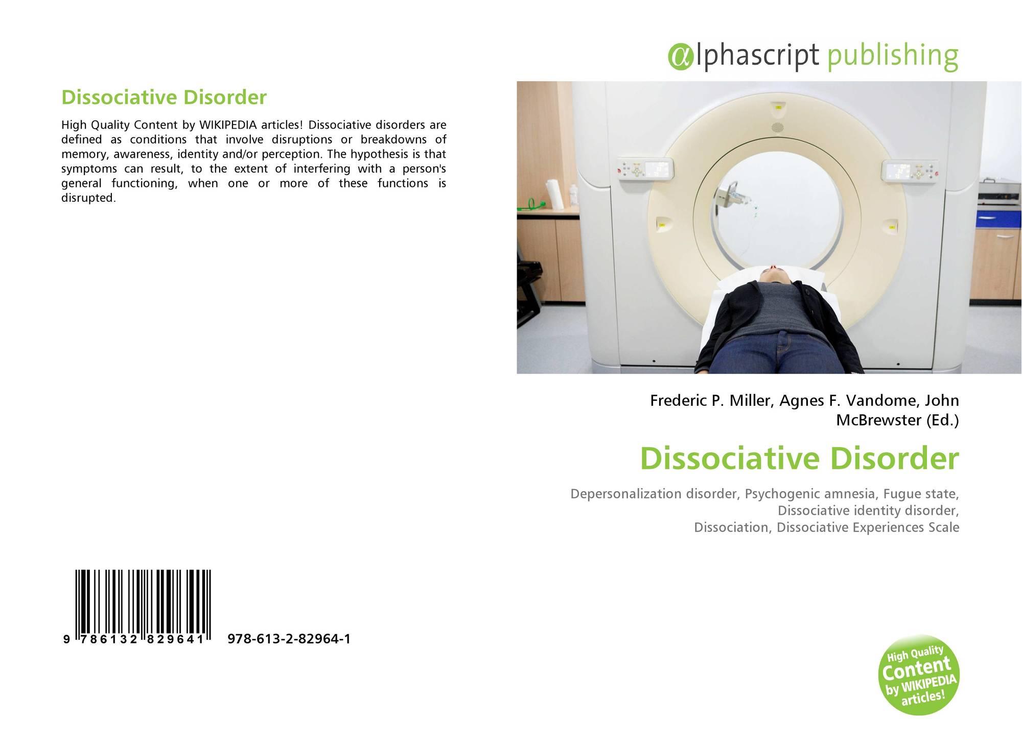 hypothesis on dissociative identity disorder