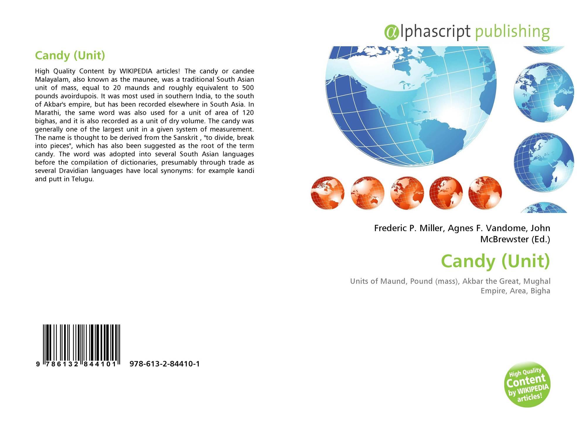 Candy (Unit), 978-613-2-84410-1, 6132844104 ,9786132844101