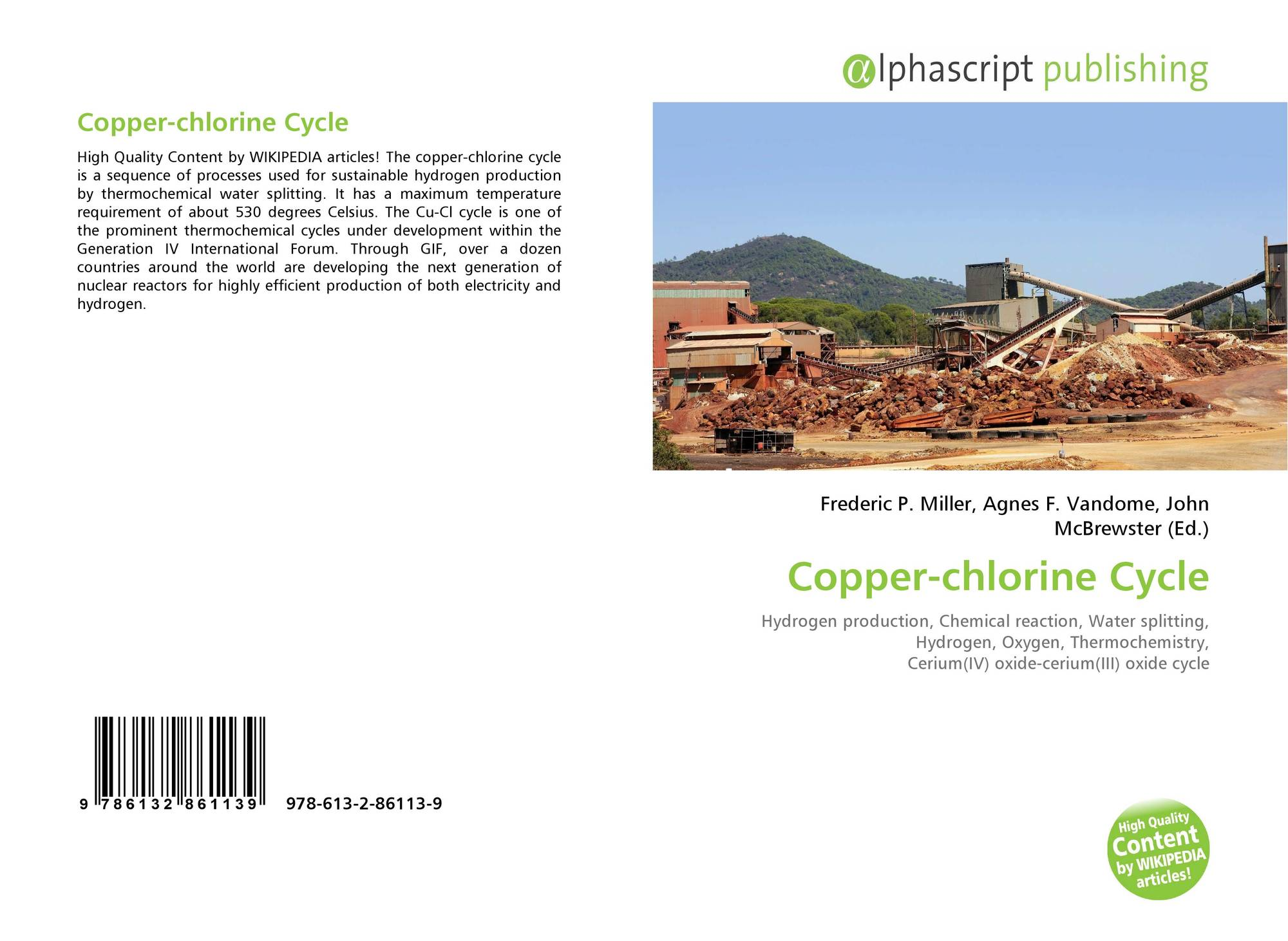 Copper-chlorine Cycle, 978-613-2-86113-9, 6132861130