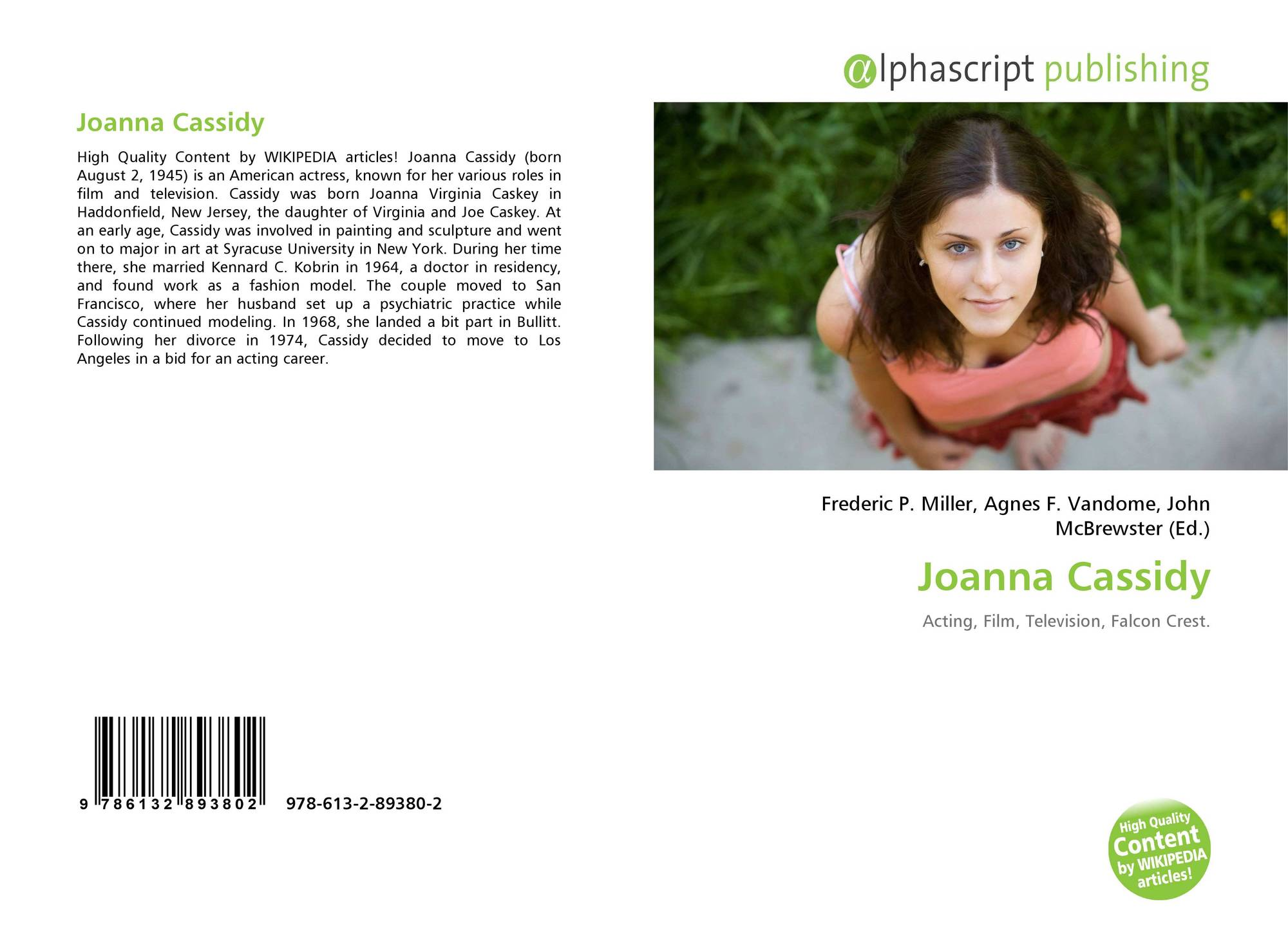 search results for joanna ziobrowska bookcover of joanna cassidy