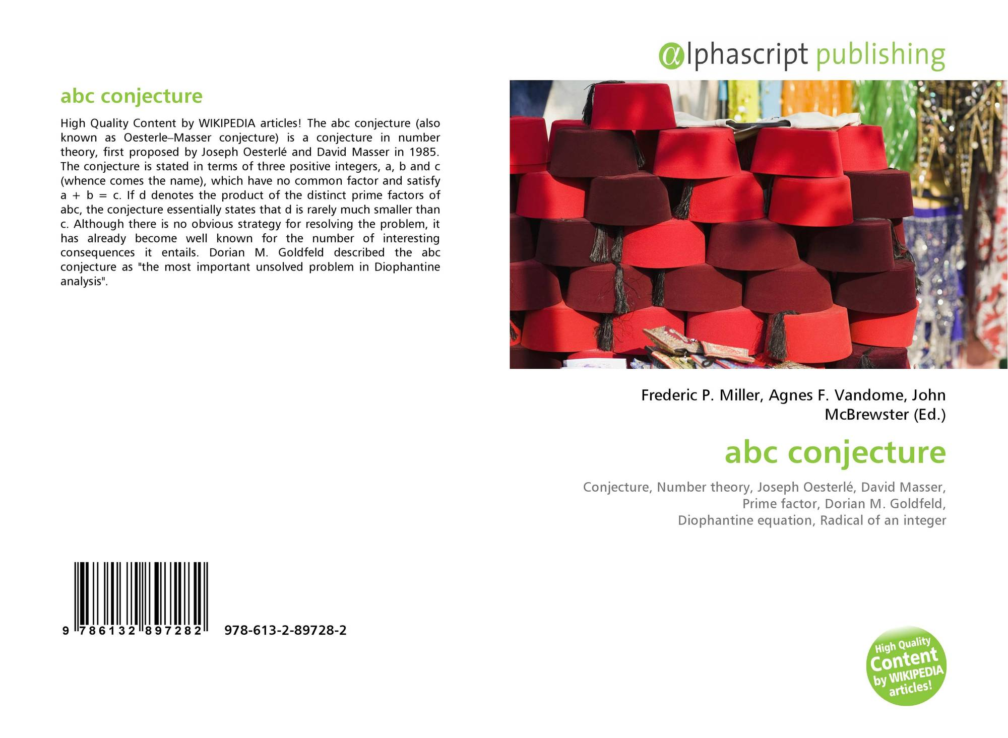 the abc conjecture