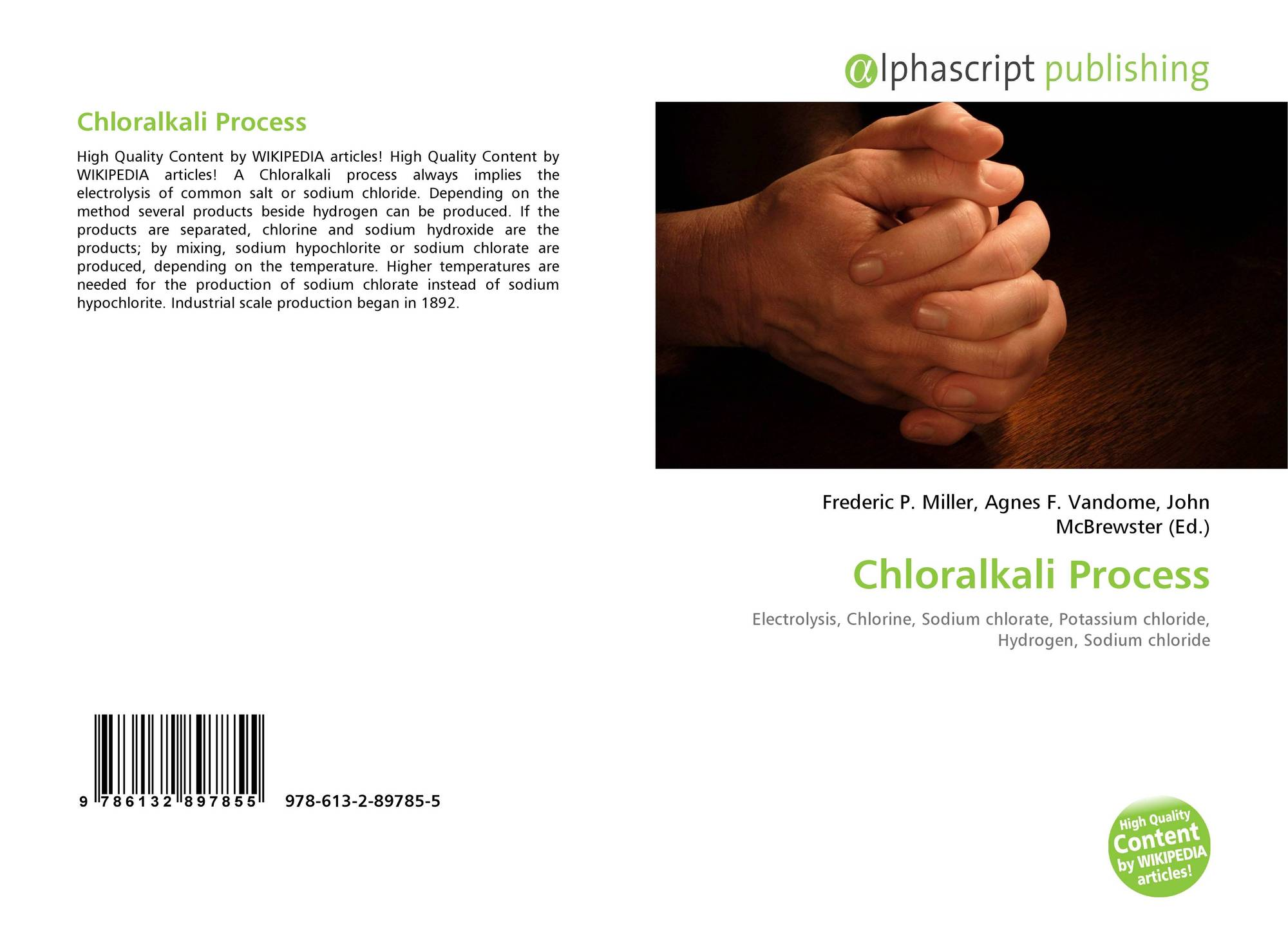 Chloralkali Process, 978-613-2-89785-5, 6132897852