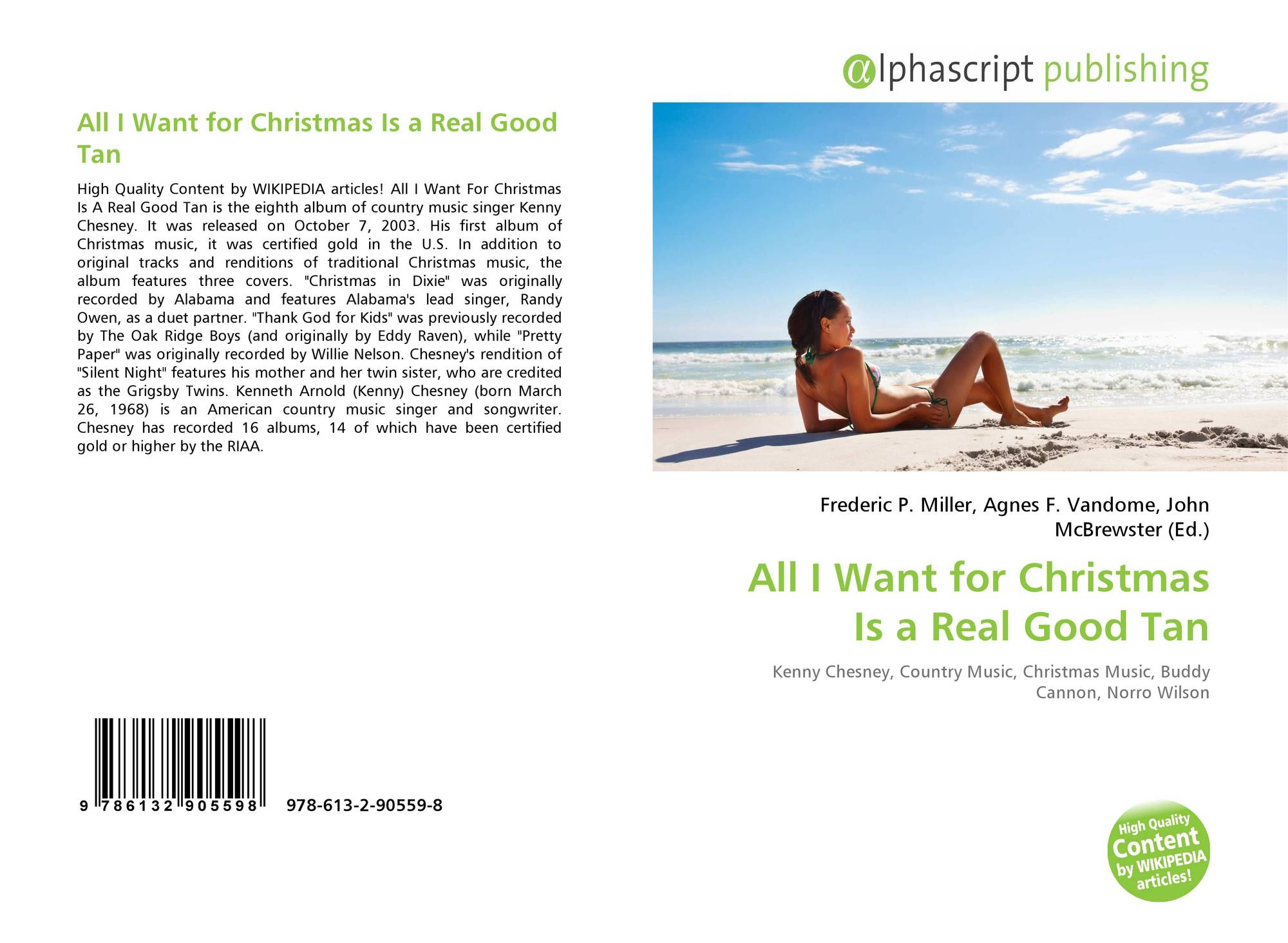 bookcover of all i want for christmas is a real good tan