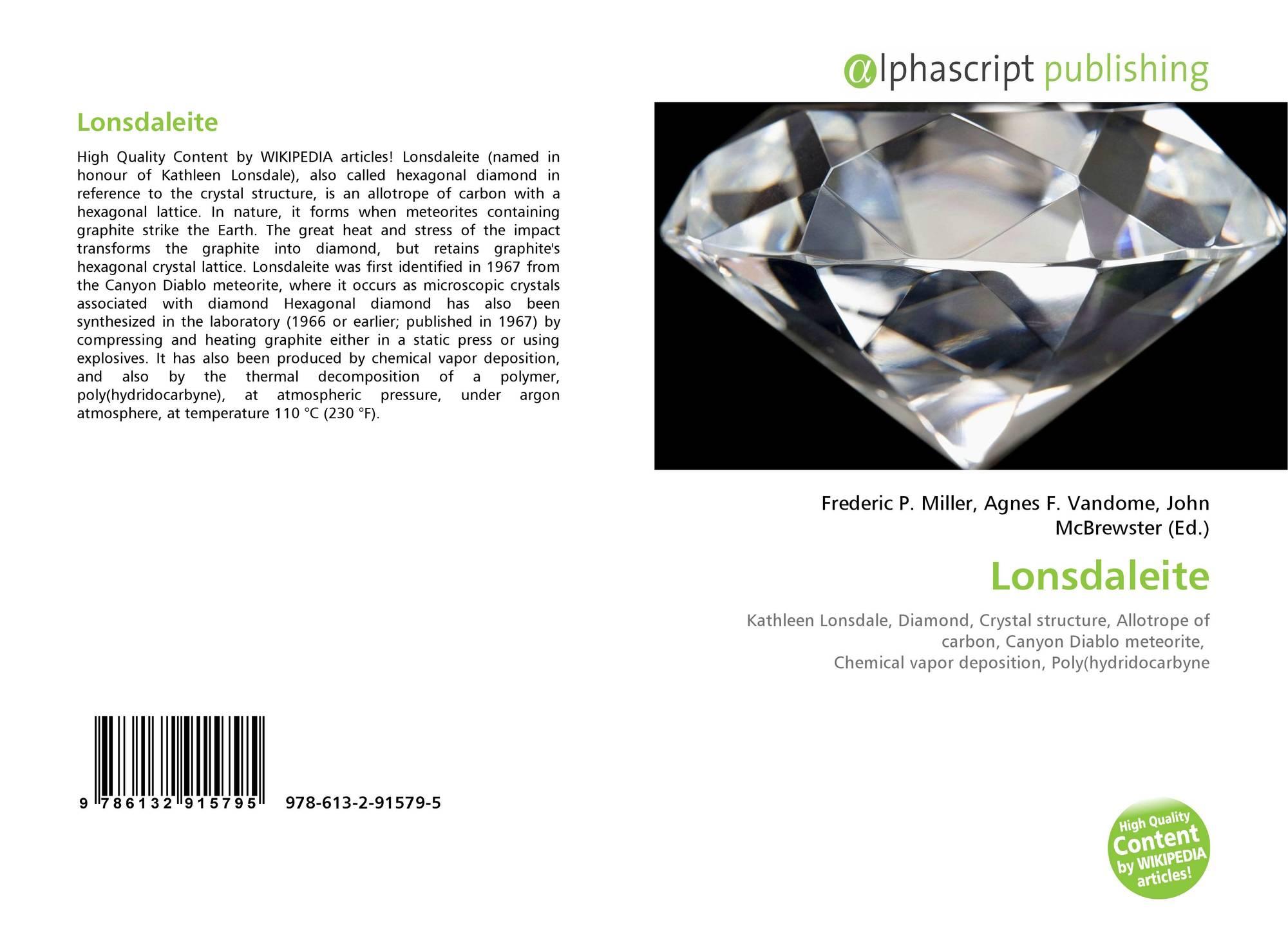 Lonsdaleite, 978-613-2-91579-5, 6132915796 ,9786132915795