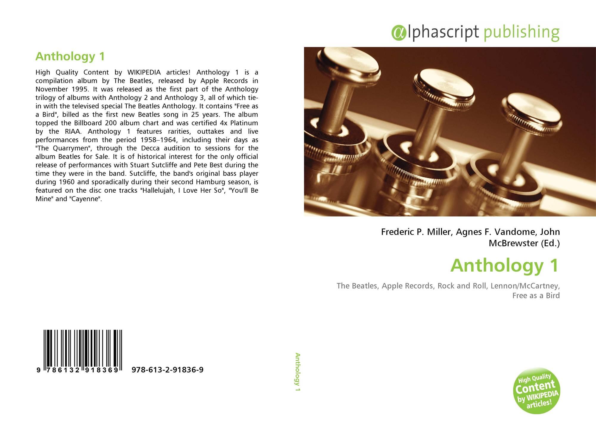 Anthology 1, 978-613-2-91836-9, 6132918361 ,9786132918369