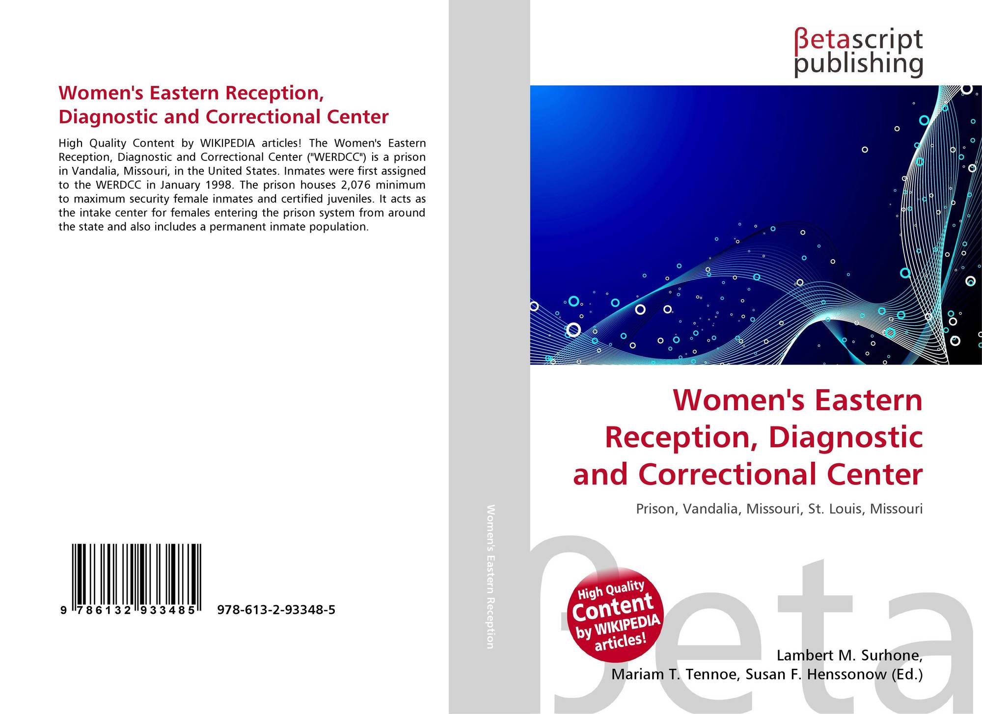 Women's Eastern Reception, Diagnostic and Correctional