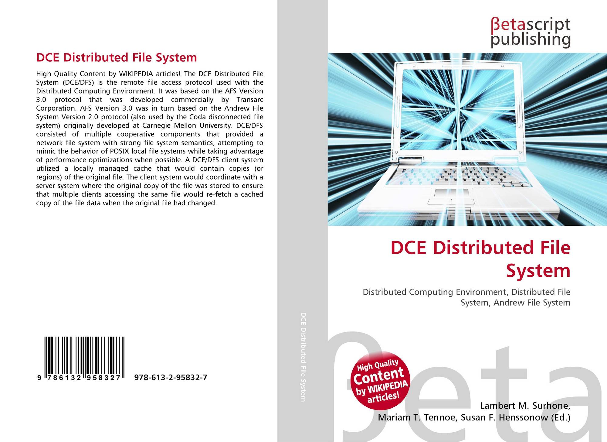 DCE Distributed File System, 9...