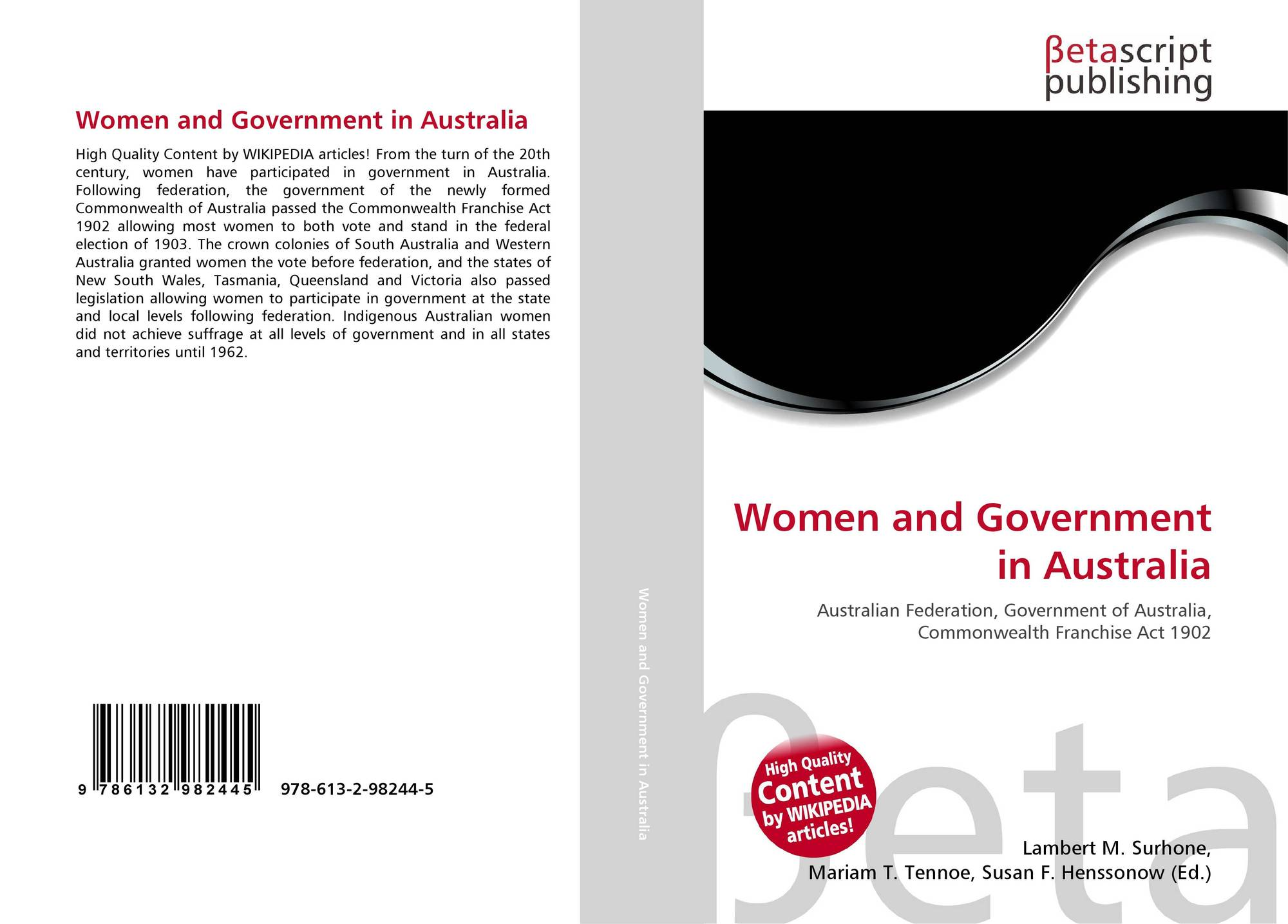 the local state and federal levels of government in australia