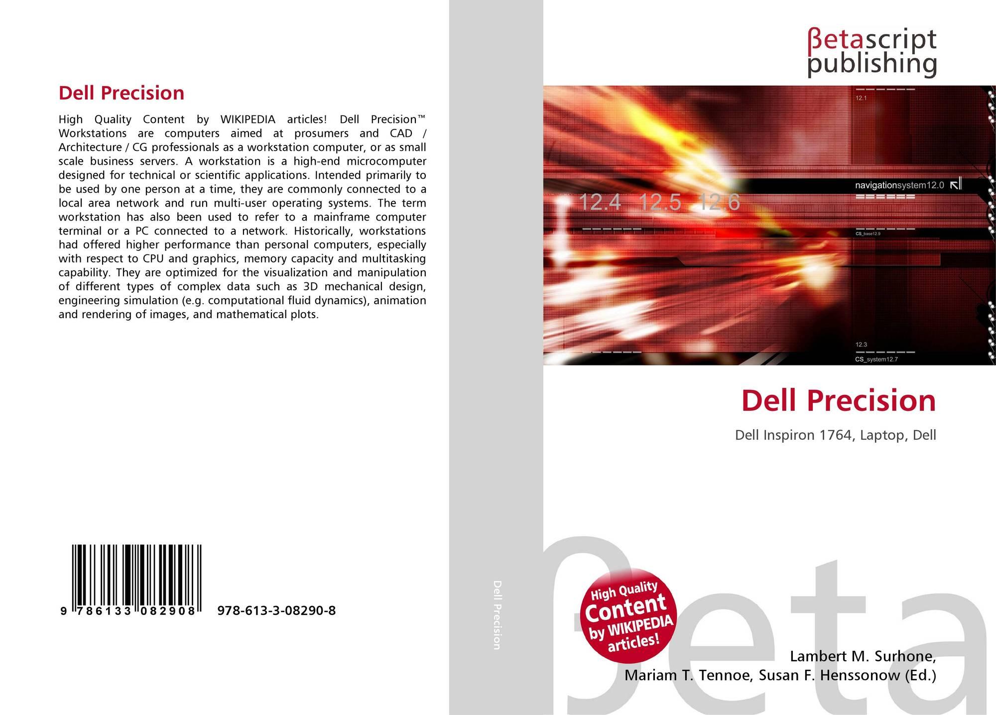 Dell Precision, 978-613-3-08290-8, 6133082909 ,9786133082908