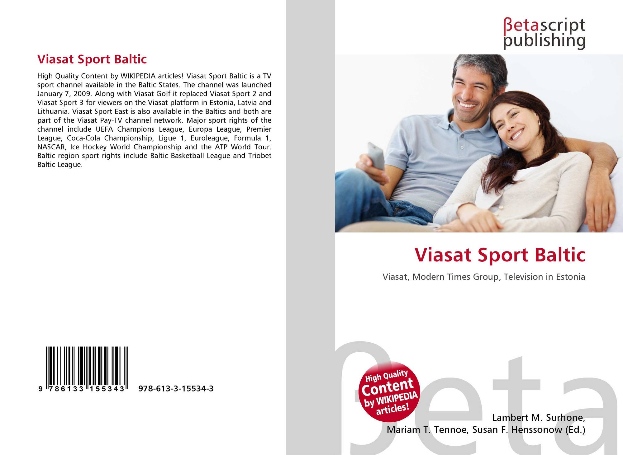 Viasat Sport Baltic, 978-613-3-15534-3, 6133155345