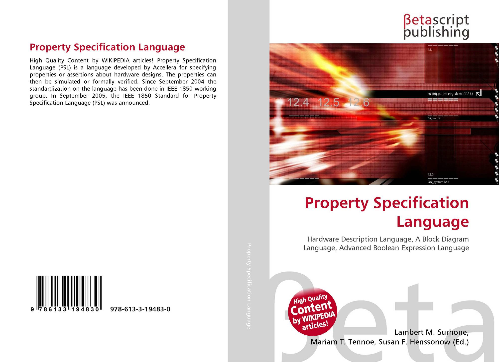 Search Results For A Language Process Specification Block Diagram Wikipedia Bookcover Of Property Omni Badge 9307e2201e5f762643a64561af3456be64a87707602f96b92ef18a9bbcada116