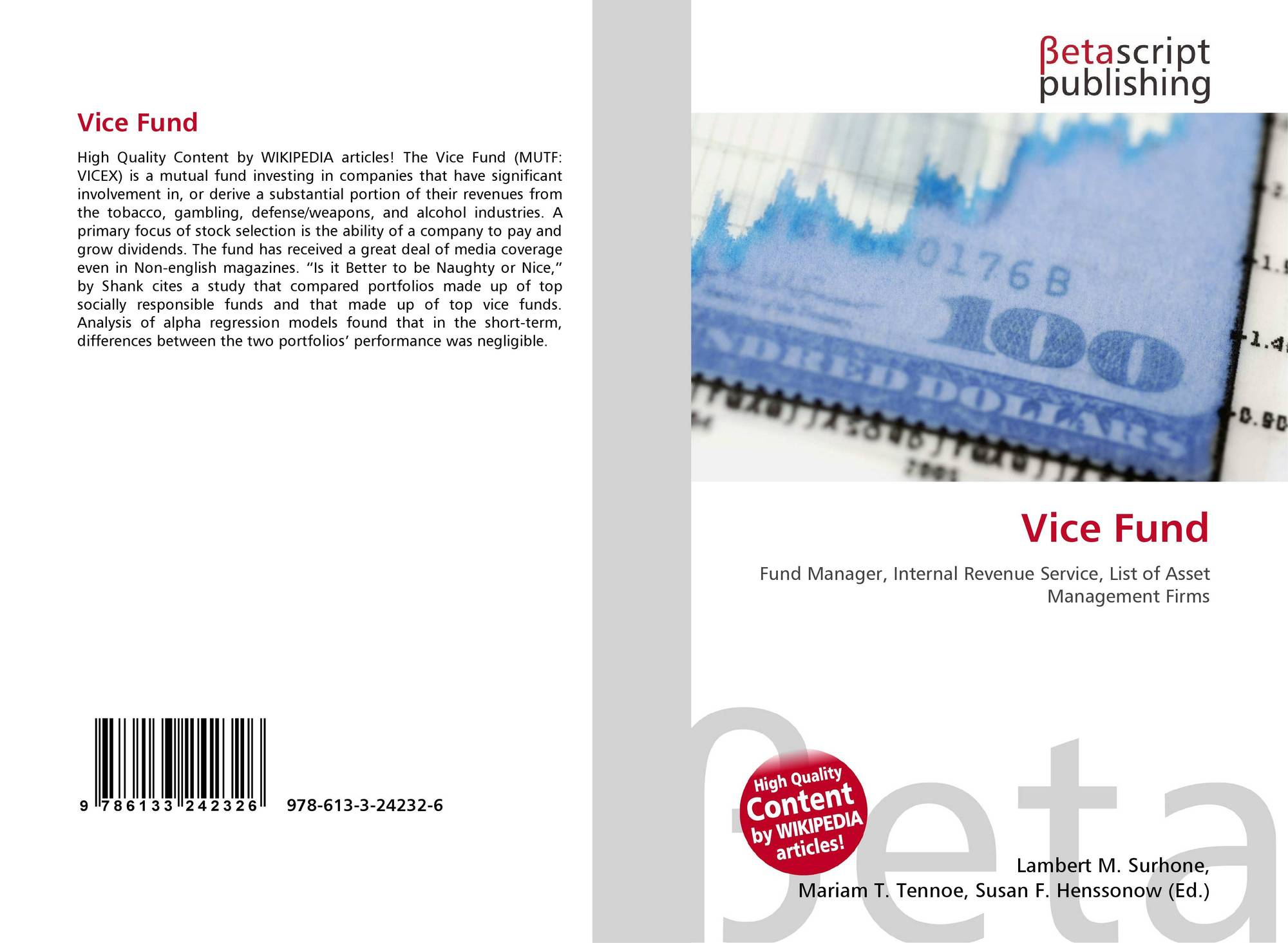 Bookcover of Vice Fund
